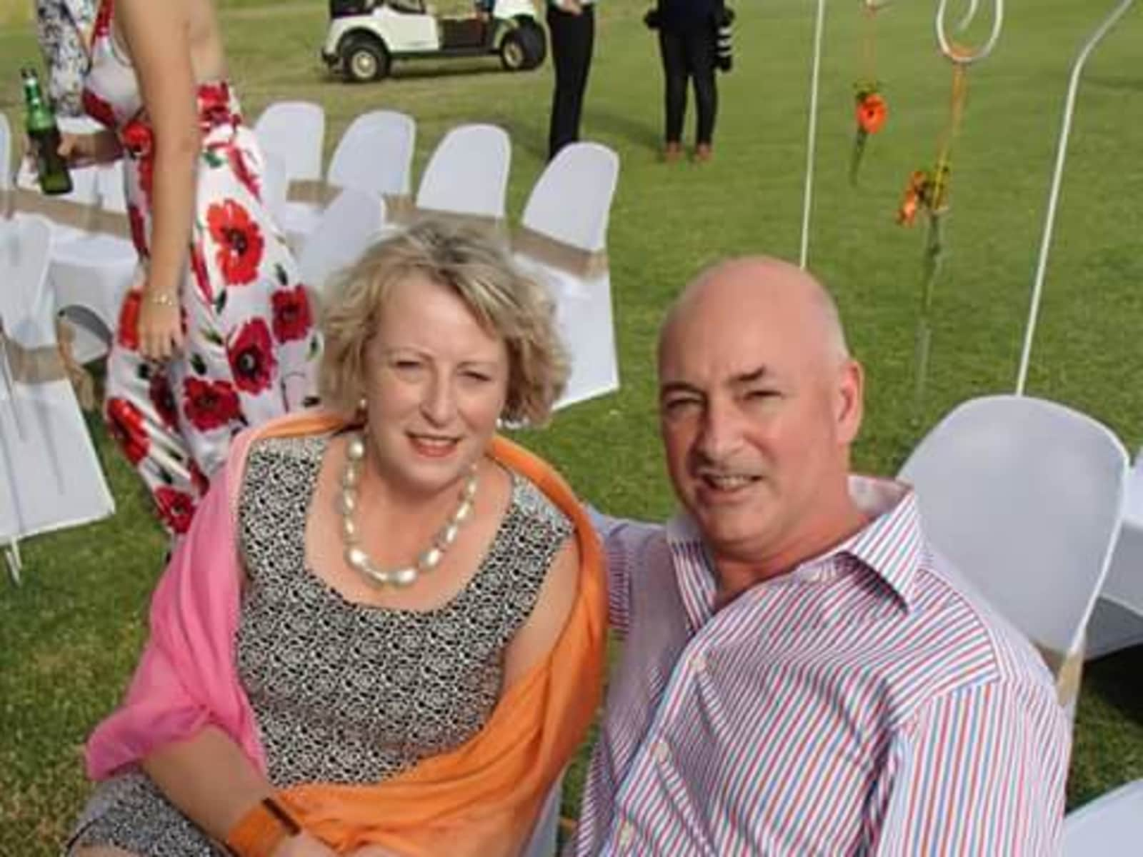 Margaret & Kevin from Palmerston North, New Zealand