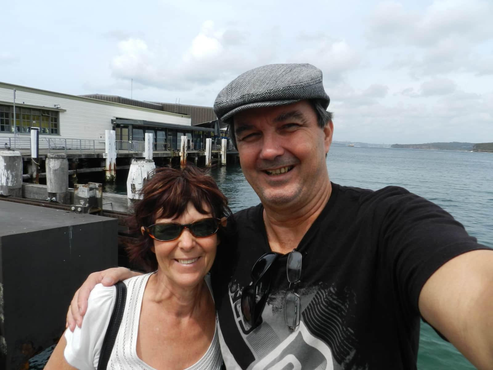 Susan & Roger from Franceix, France