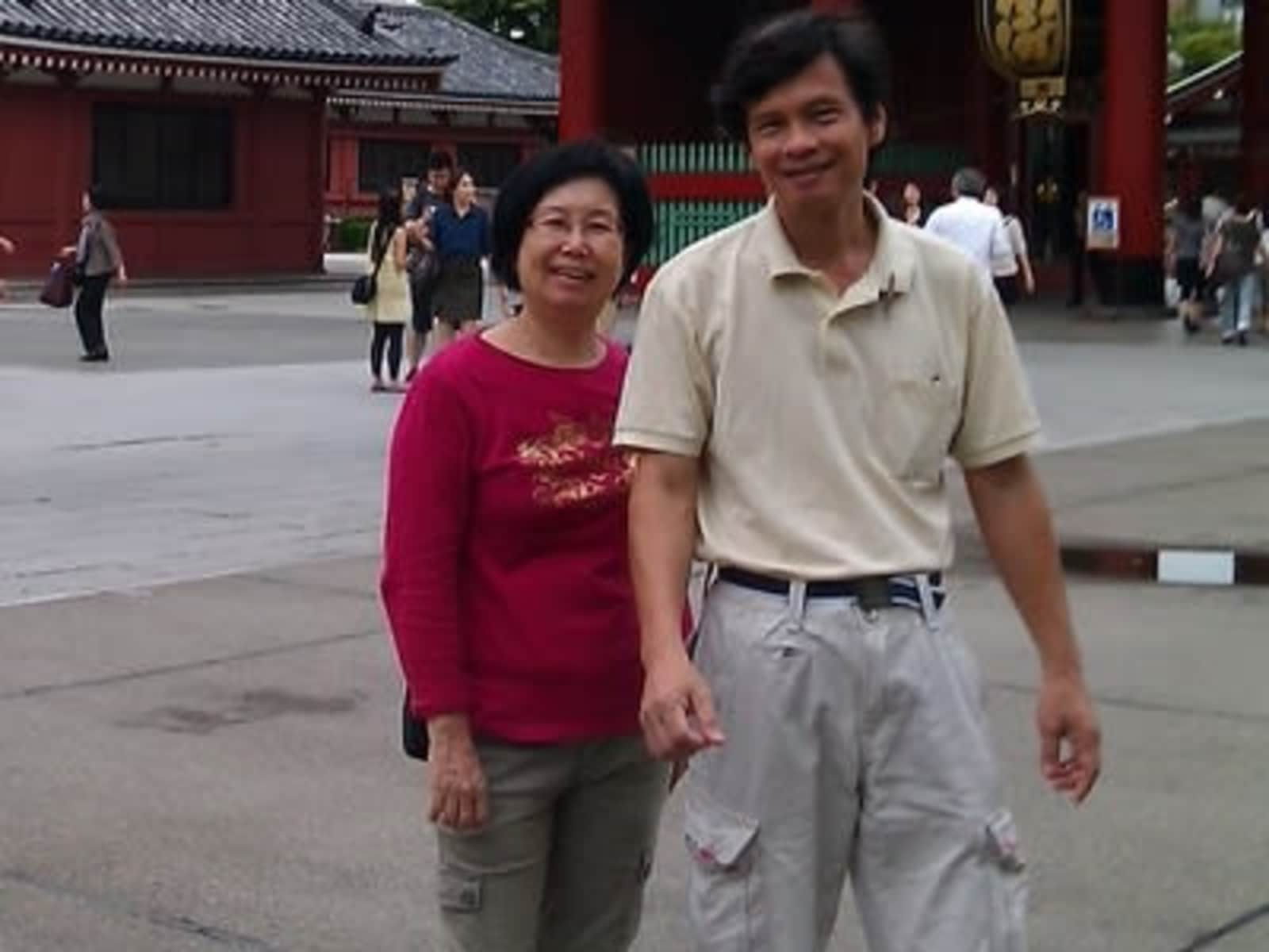 James & Joanna from George Town, Malaysia