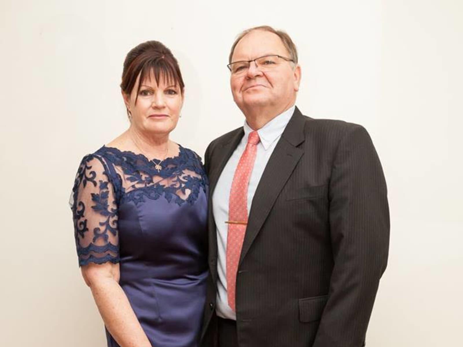 Greg & Sharon from Bendigo, Victoria, Australia