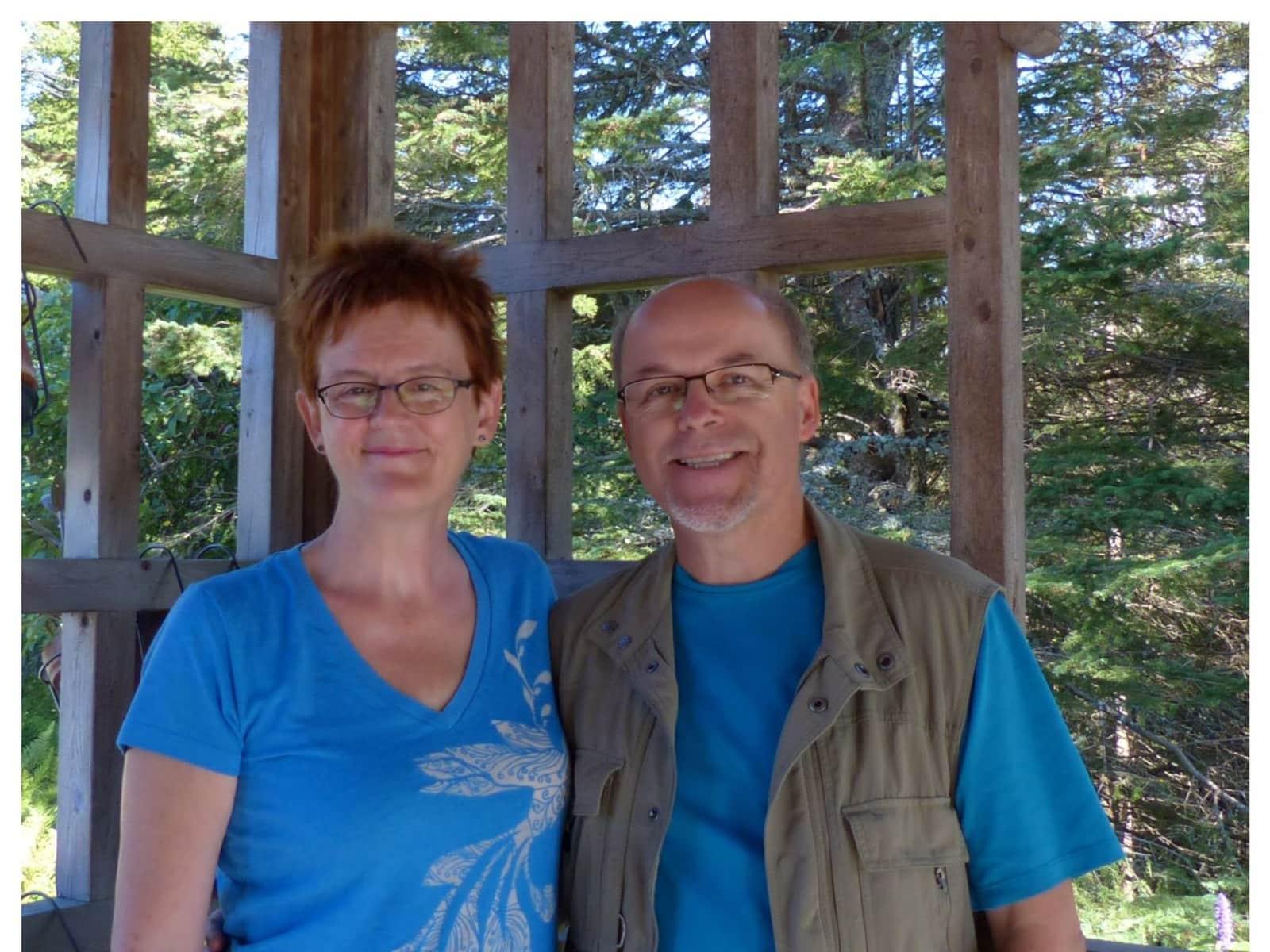 Danielle & Marcel from Montréal, Quebec, Canada