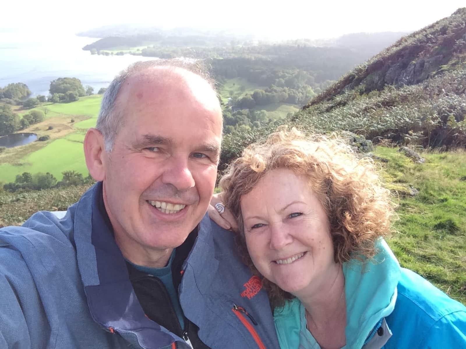 Andrew & Heather from Edinburgh, United Kingdom