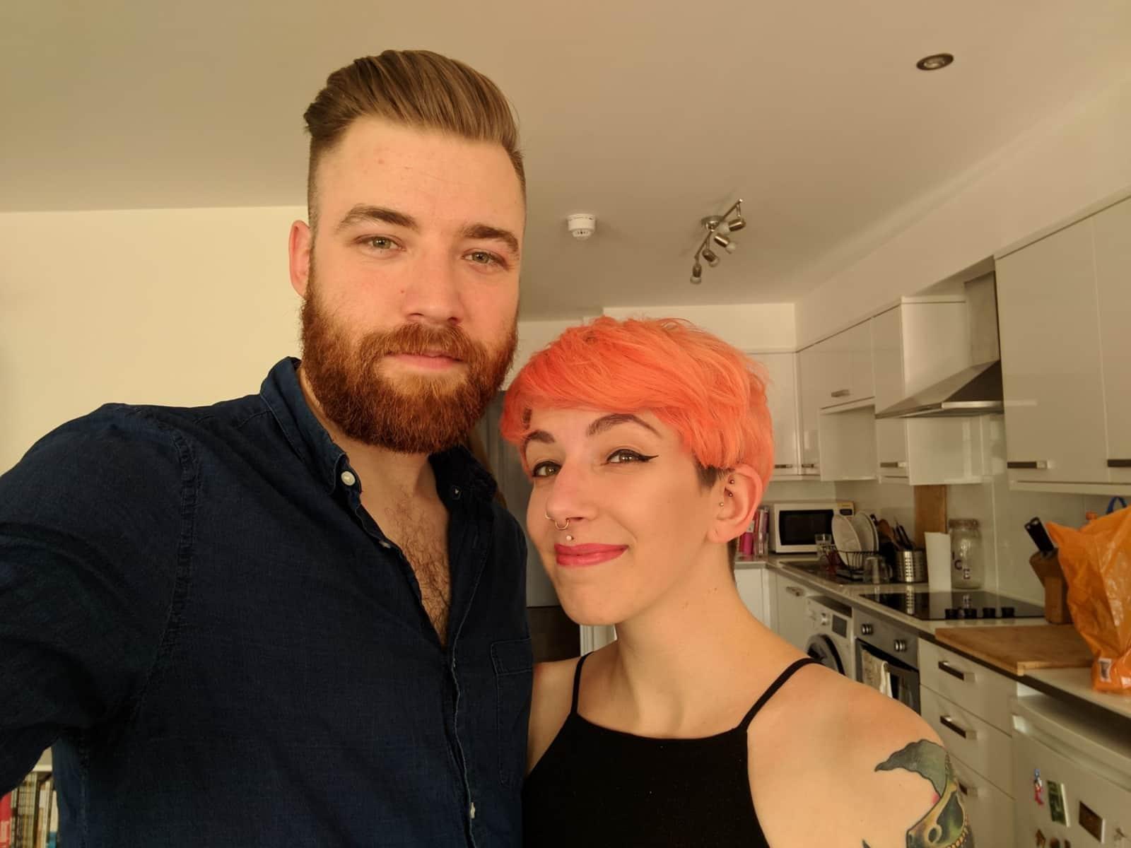 Chris & Alice from Brighton, United Kingdom