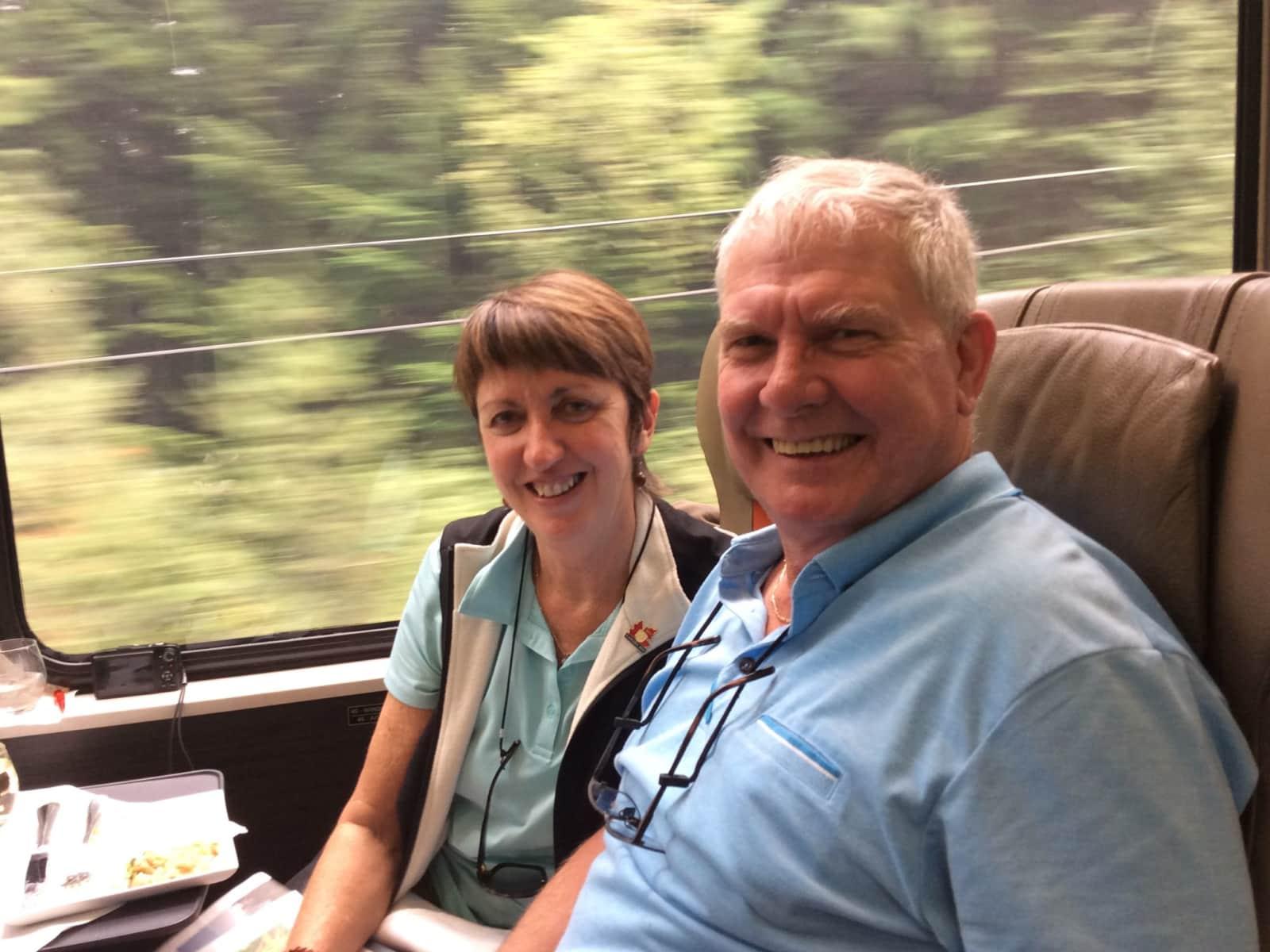 Lesley & Ken from Brisbane, Queensland, Australia