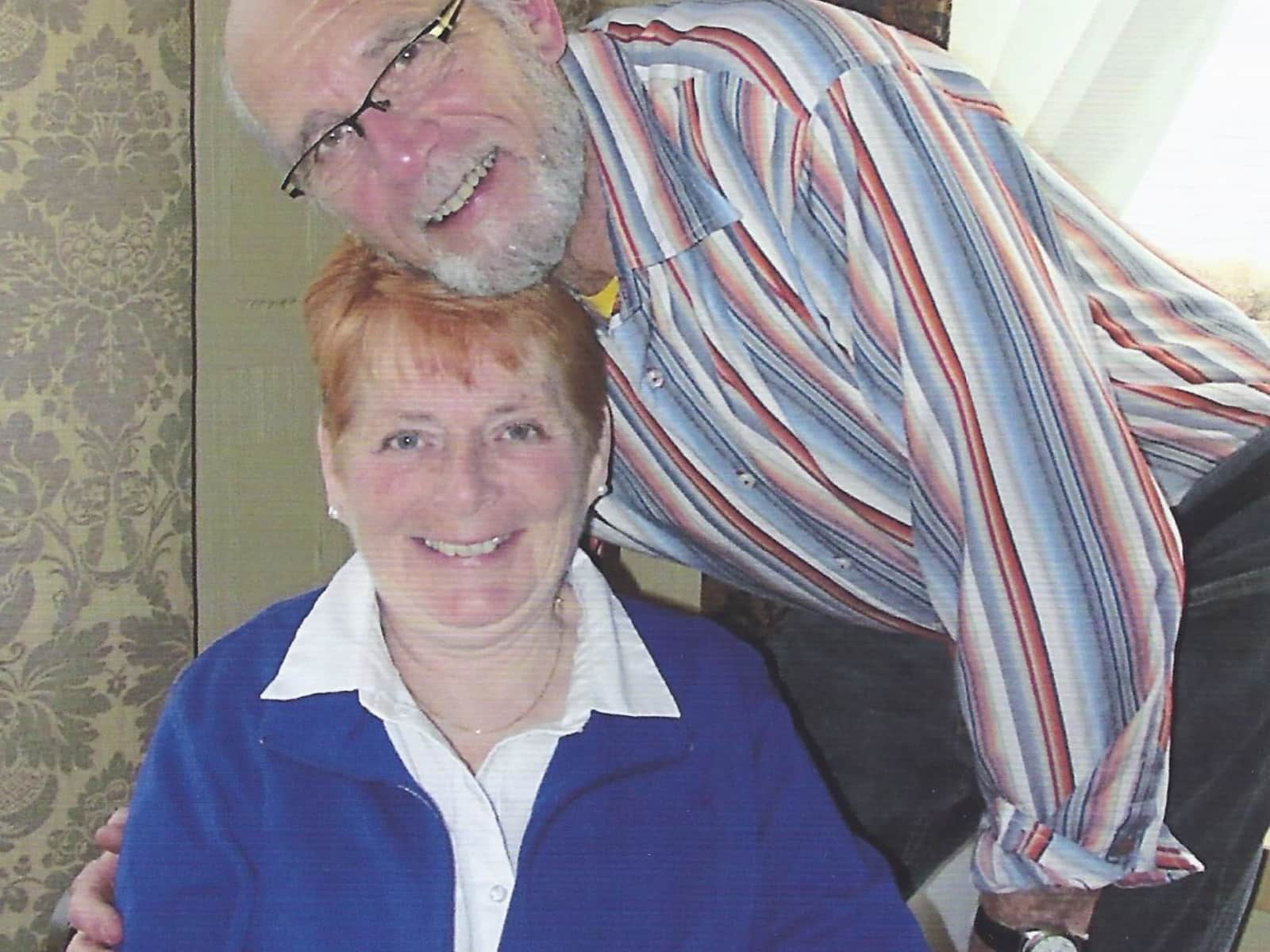 Anne & Keith from Oliver, British Columbia, Canada