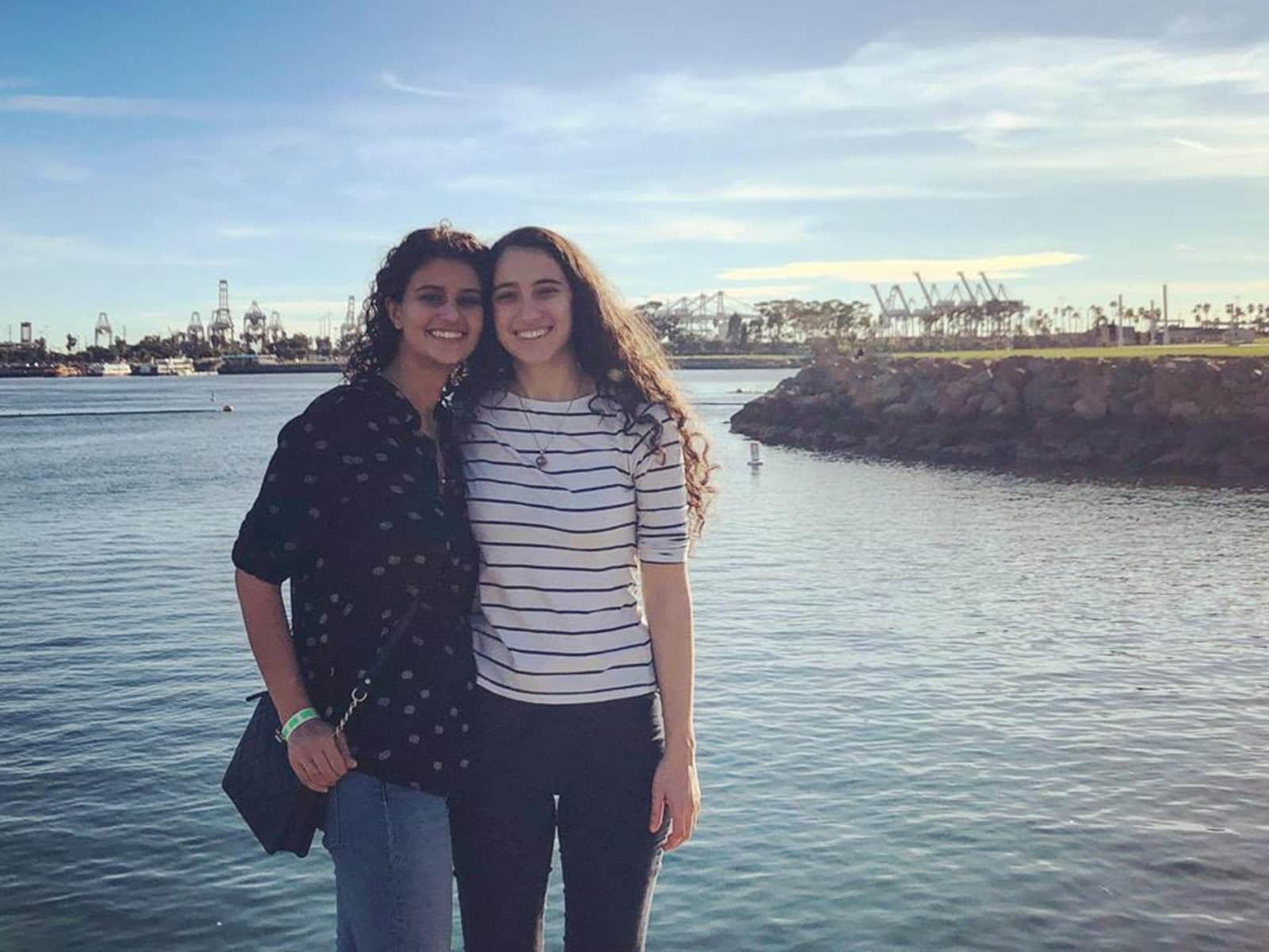 Christina & Kristine from Los Angeles, California, United States