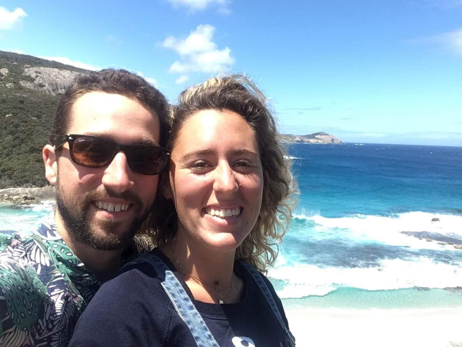 Manon & Benjamin from Margaret River, Western Australia, Australia