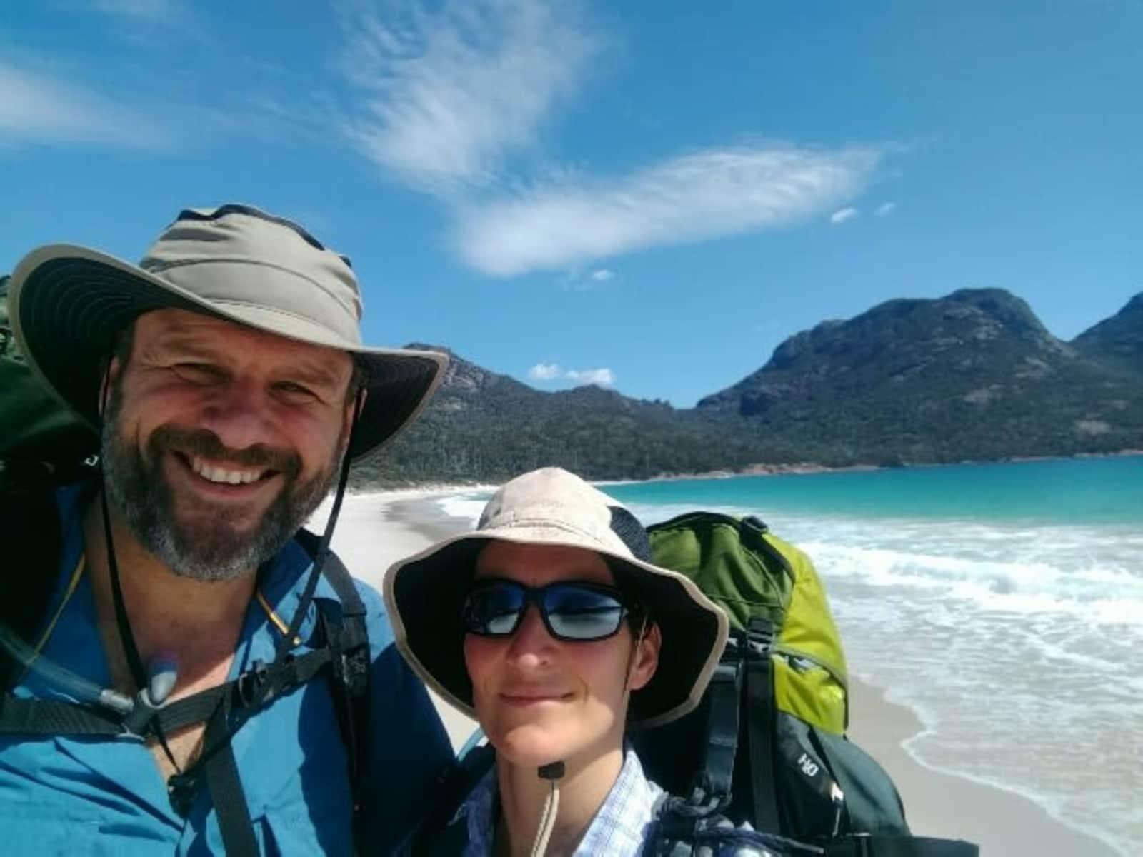 Nicole & Craig from Hobart, Tasmania, Australia