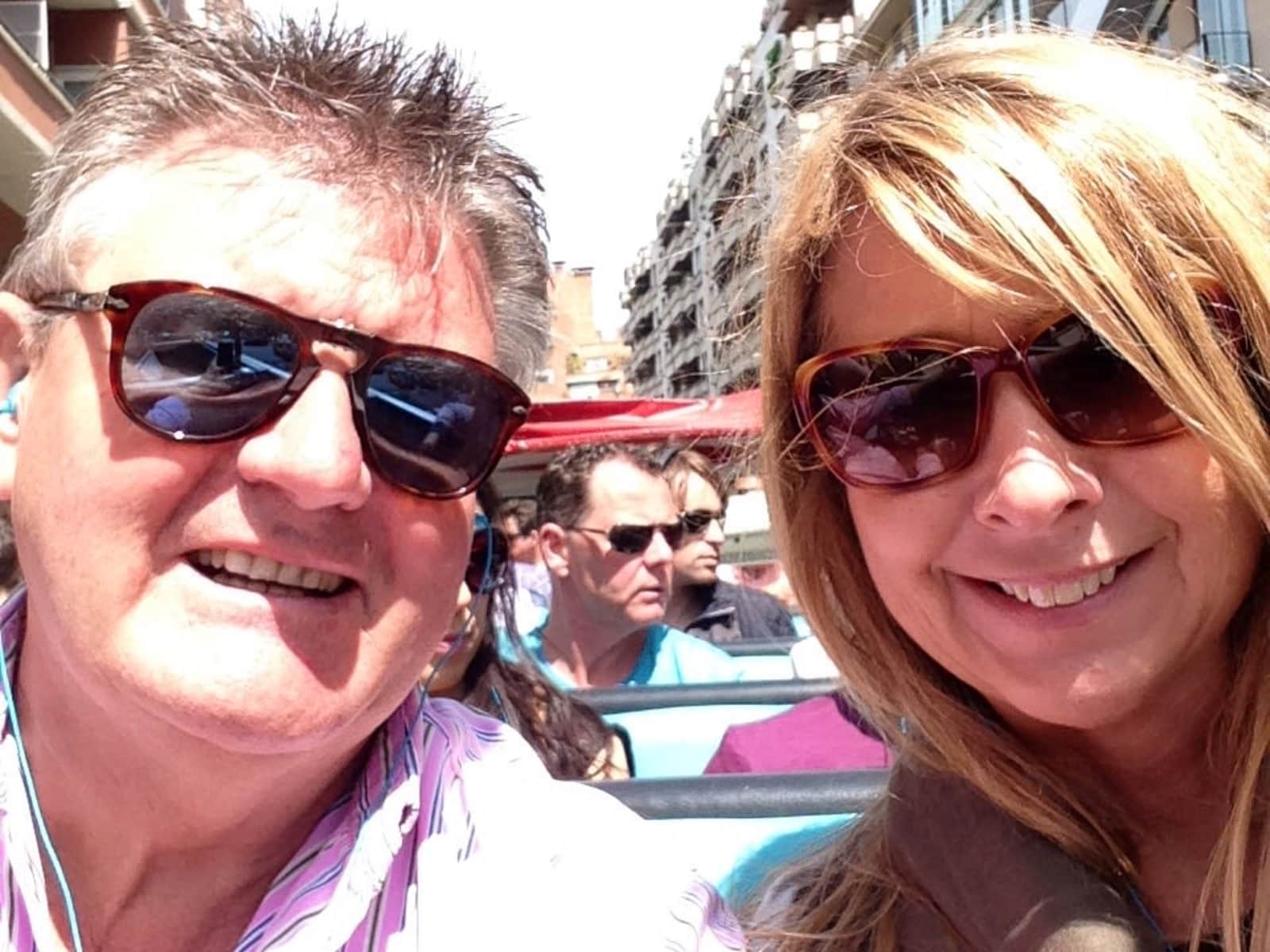 Stuart & Jan from Harrogate, United Kingdom