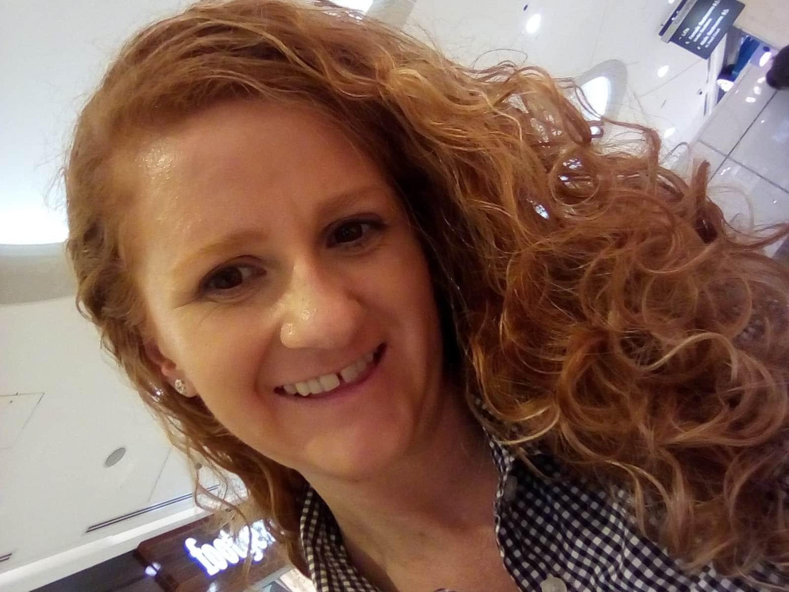 Sarah from Brisbane, Queensland, Australia