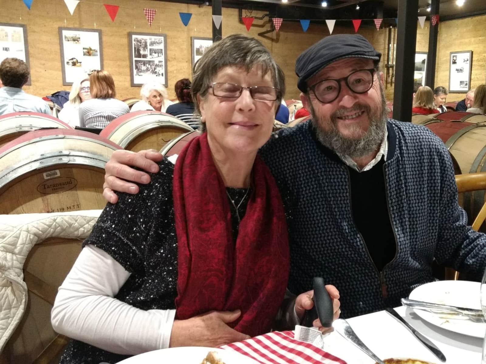 Wendy & Roger from Margaret River, Western Australia, Australia