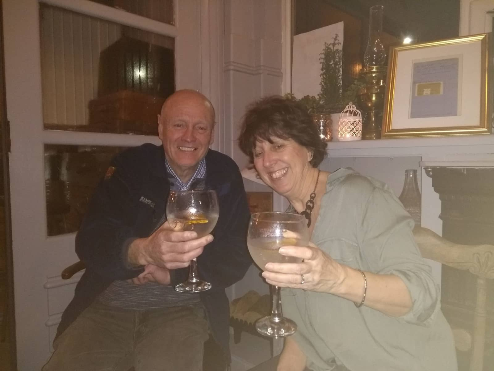 Ros & Peter from Sheffield, United Kingdom