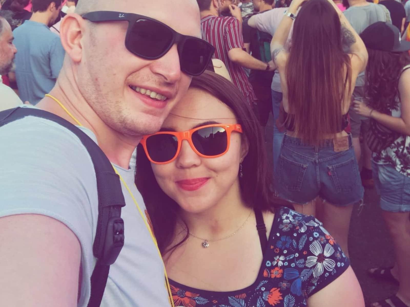 Rachel & Joel from Sheffield, United Kingdom