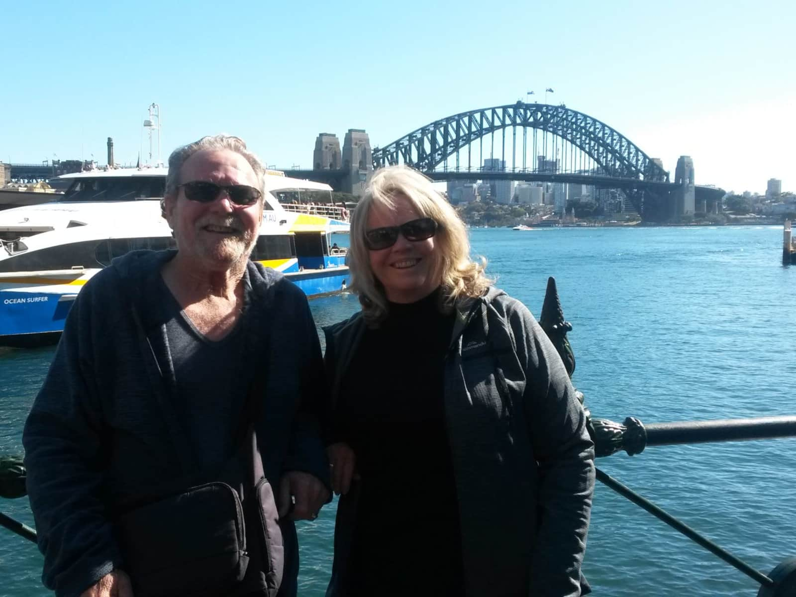 June & William (bill) from Coffs Harbour, New South Wales, Australia