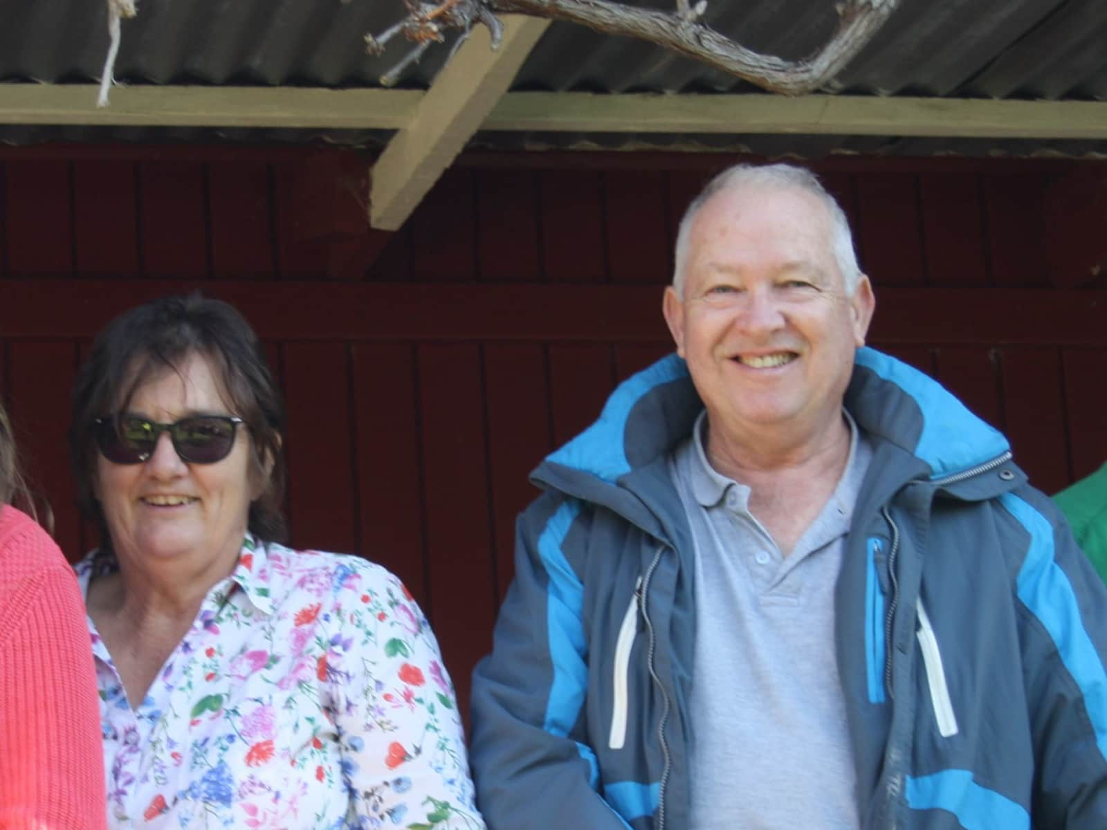 Jann & Greg from Sydney, New South Wales, Australia