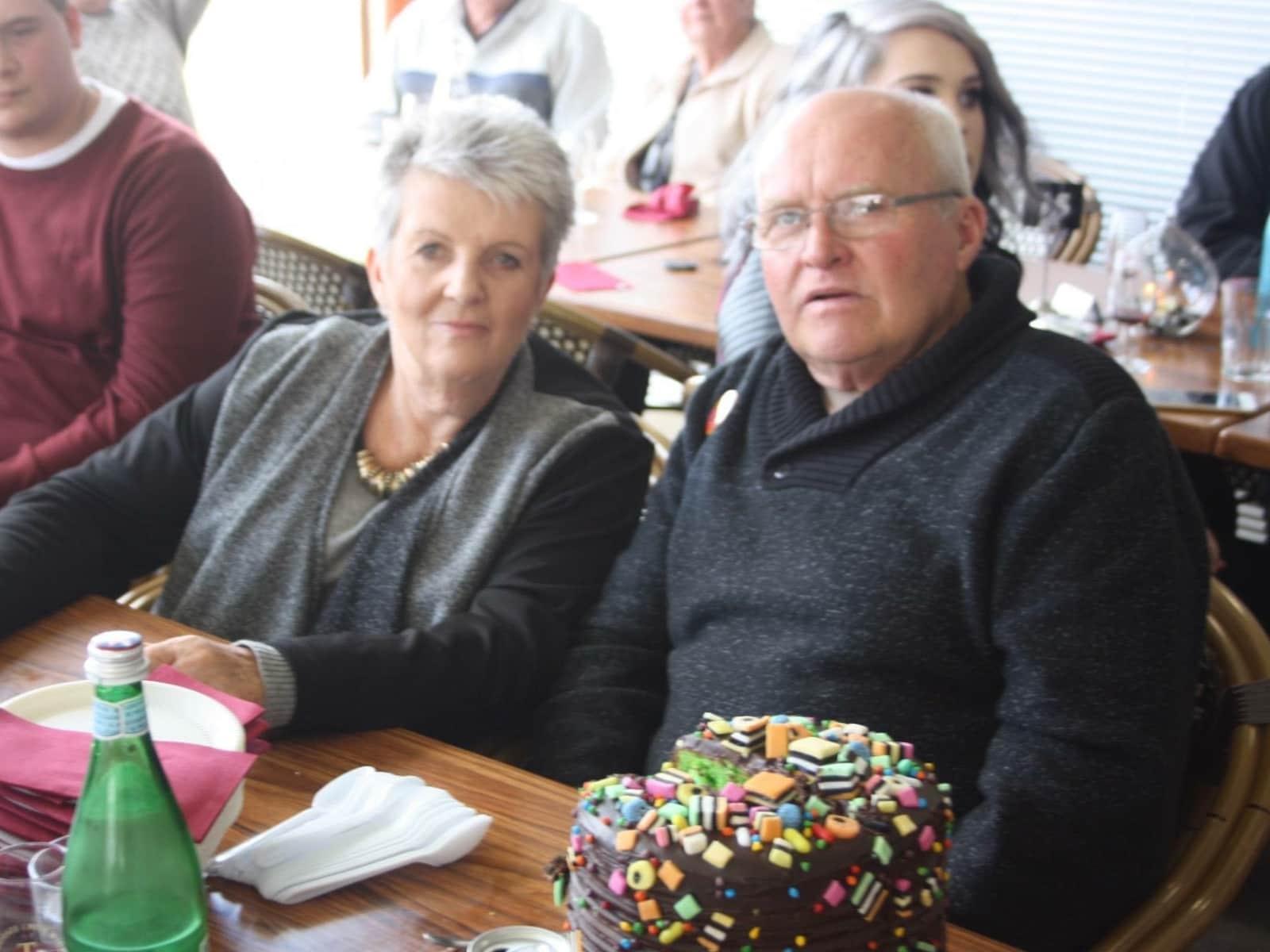 Barbara & Roger from Gawler, South Australia, Australia