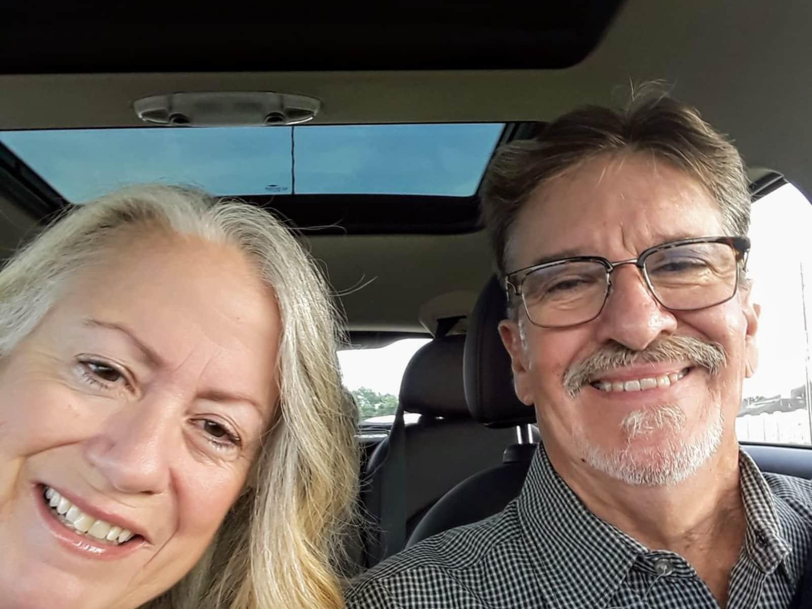 Janis & Steve from Houston, Texas, United States