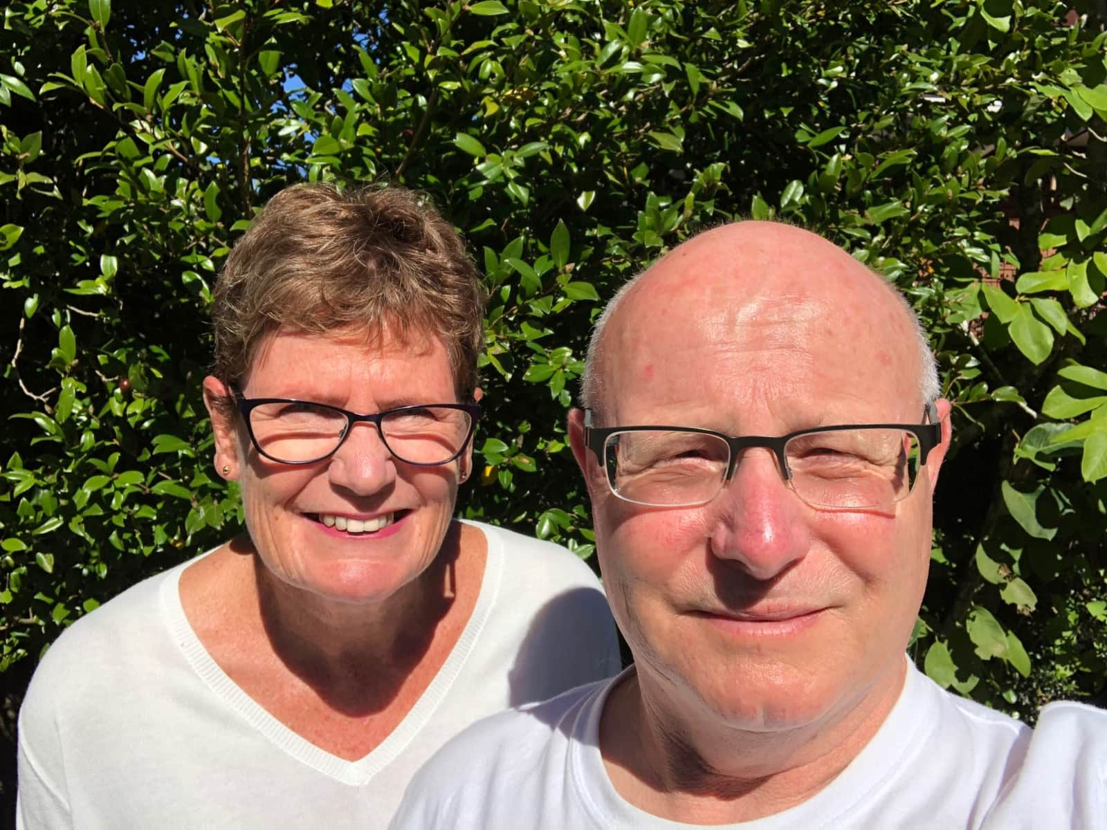 Sue & Herb from Wellington, New Zealand