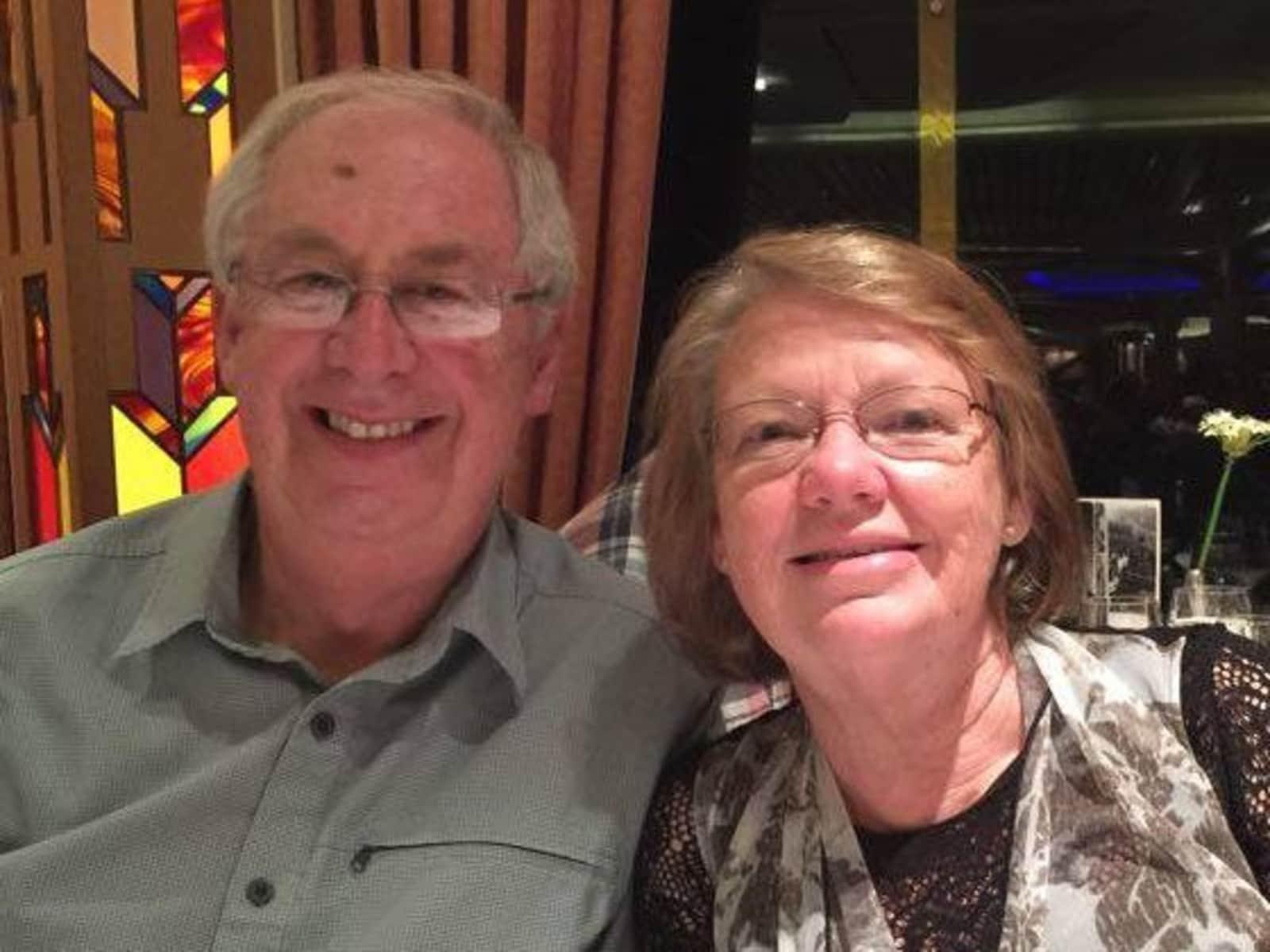 Bill & Sue from Sale, Victoria, Australia