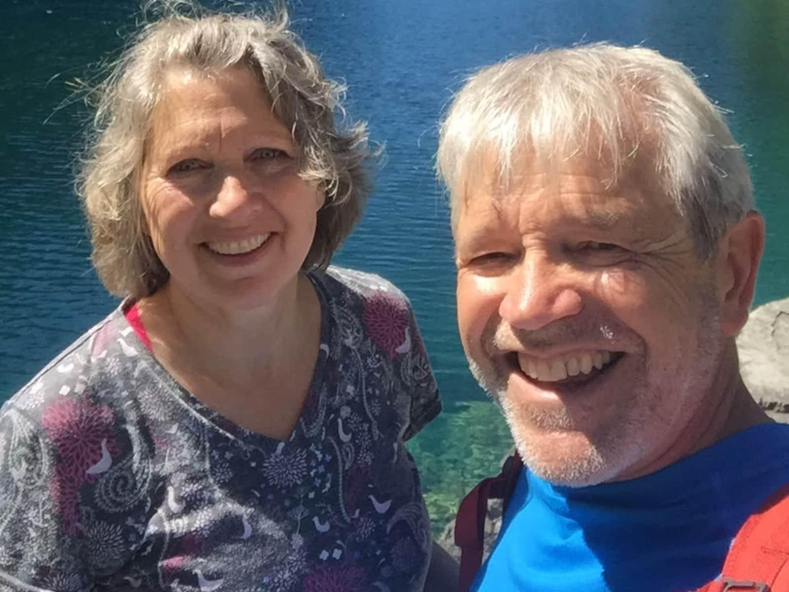 Joe & Sheila from Edmonton, Alberta, Canada