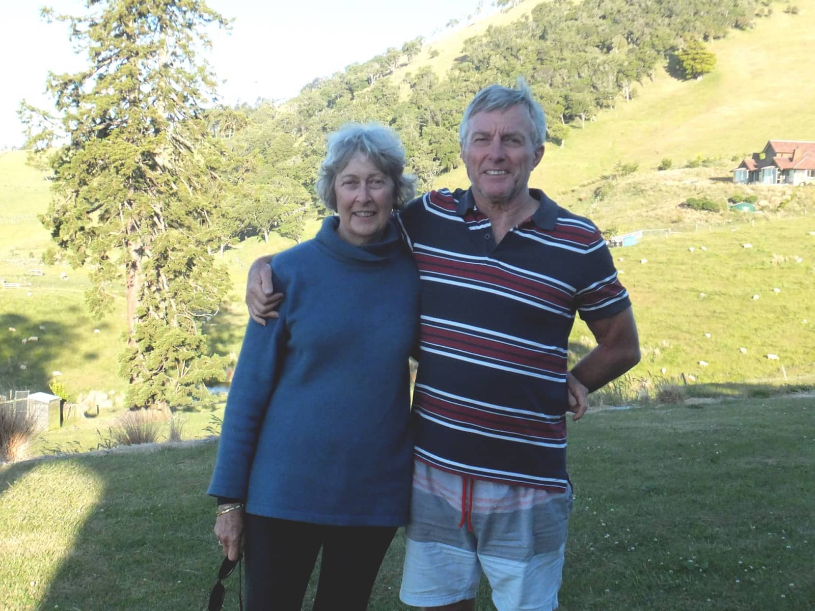 Caroline & Bill from Christchurch, New Zealand