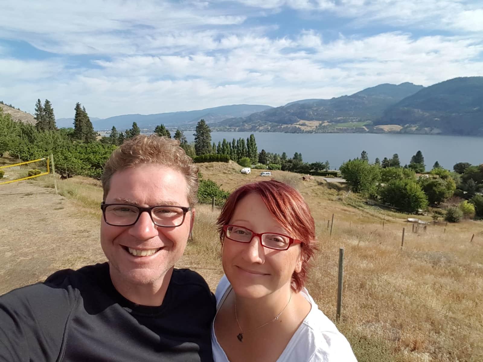 Rob & Sue from Canmore, Alberta, Canada