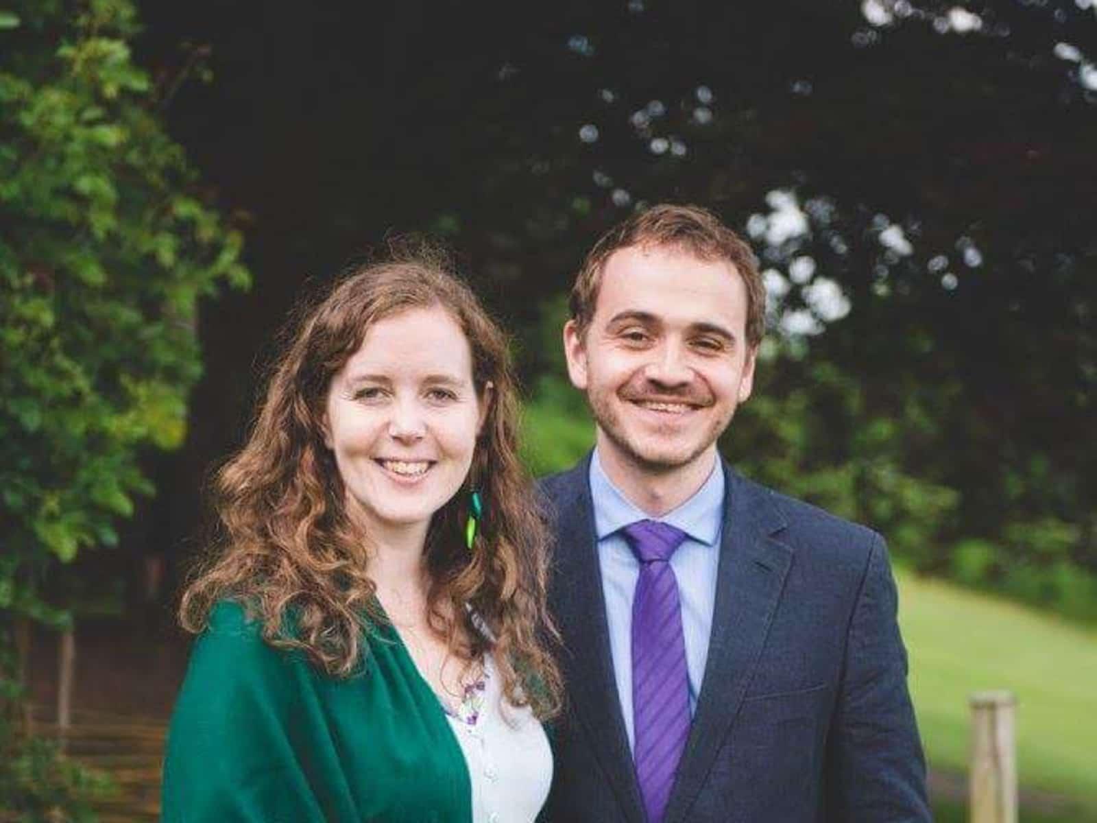 Rachel & Marcel from London, United Kingdom