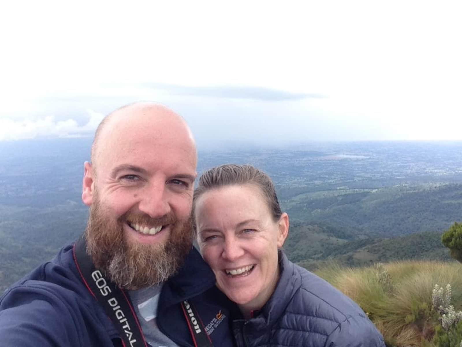 Catherine & Alex from Guatemala City, Guatemala