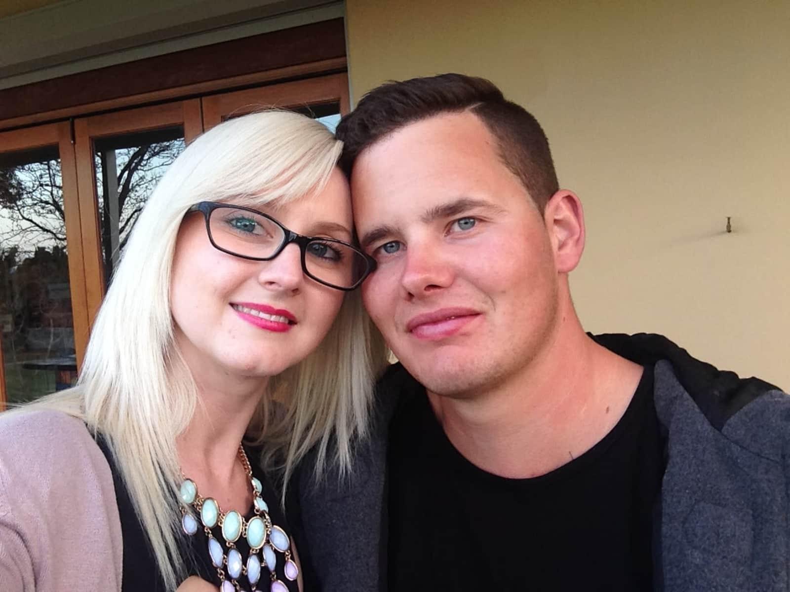 Lee & Rebekah from Kiama, New South Wales, Australia