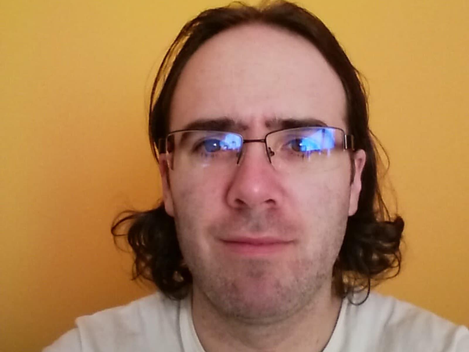 Daniel from Pamplona, Spain
