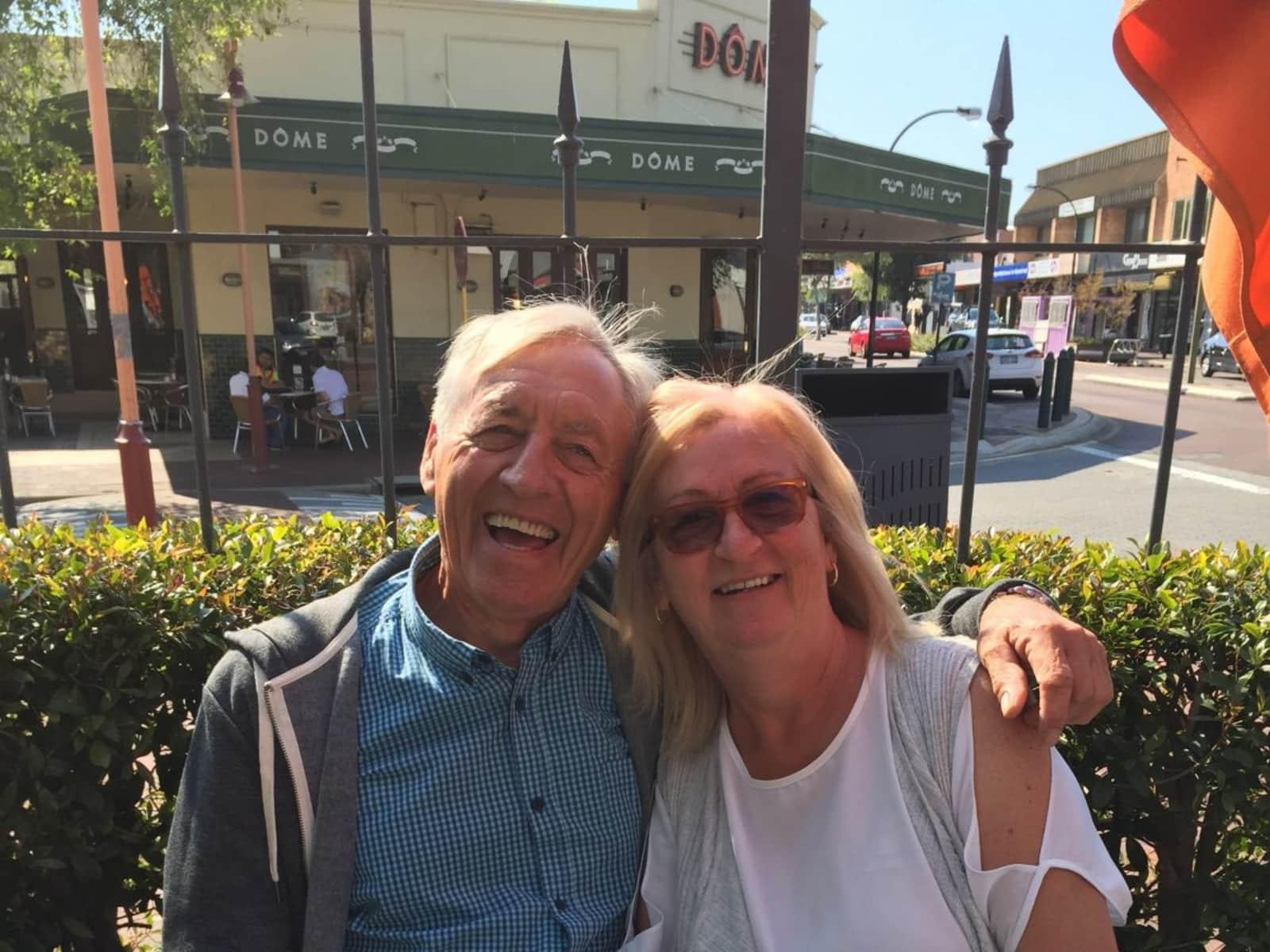 Margaret & Philip from Northfleet, United Kingdom