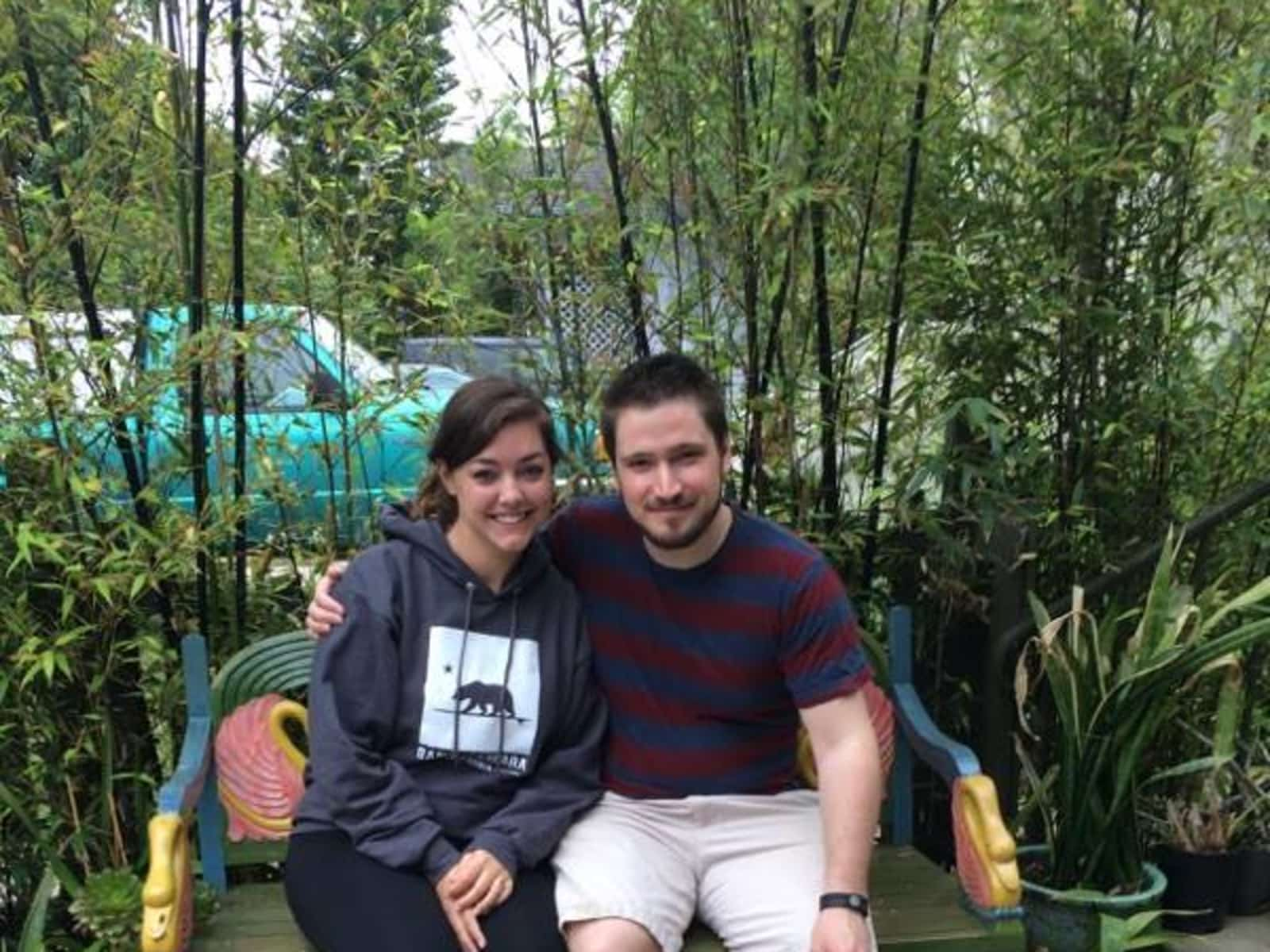 Jennifer & Jarrod from Boston, Massachusetts, United States