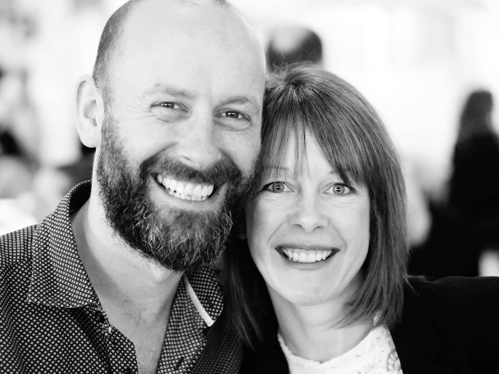 Phil & Lisa from Melbourne, Victoria, Australia