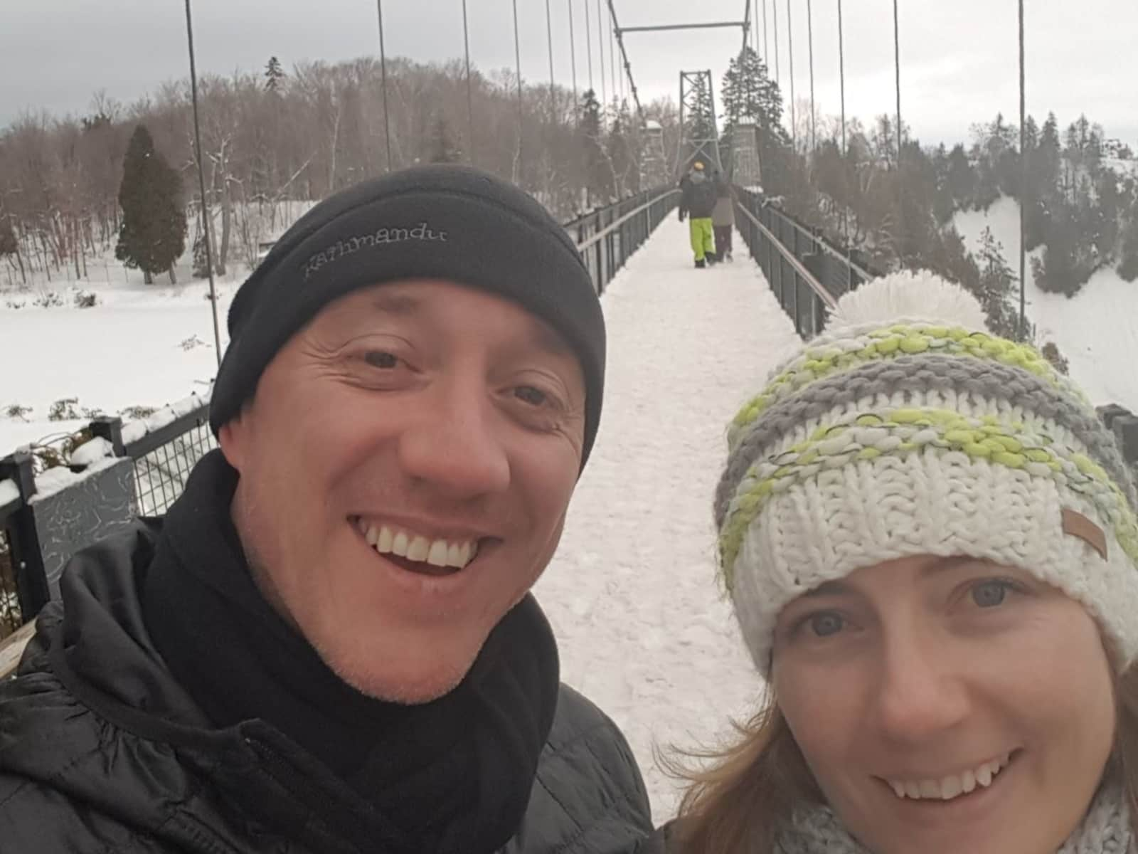 Pieta & Tony from Christchurch, New Zealand