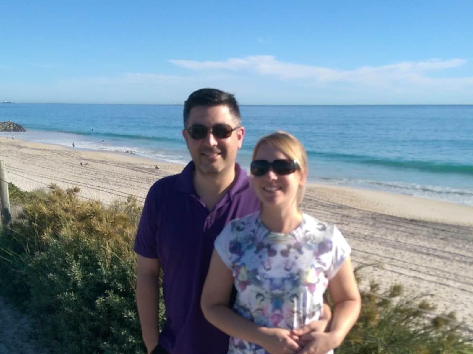 Stuart & Dianne from Melbourne, Victoria, Australia