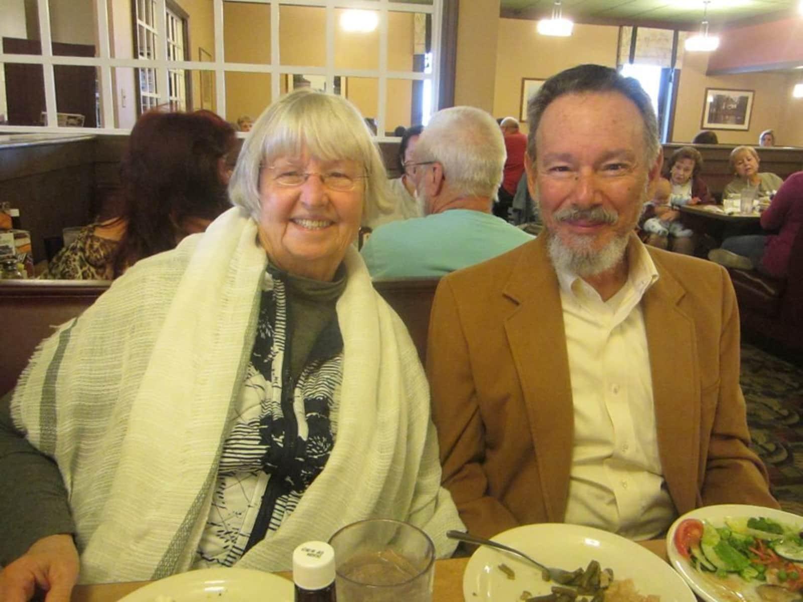 Ron & Ann from Blacksburg, Virginia, United States
