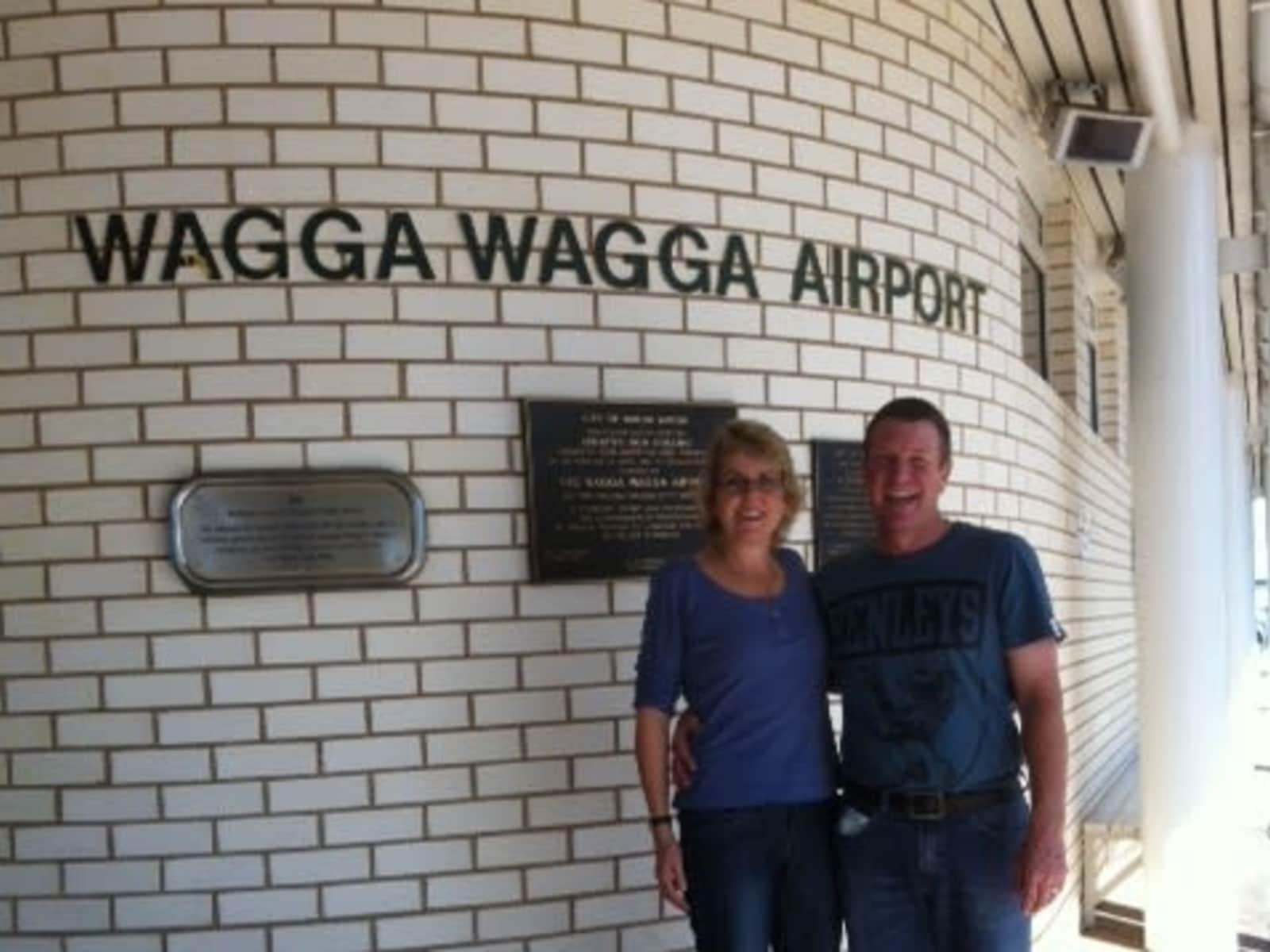 Wayne & Jacqui from Wagga Wagga, New South Wales, Australia
