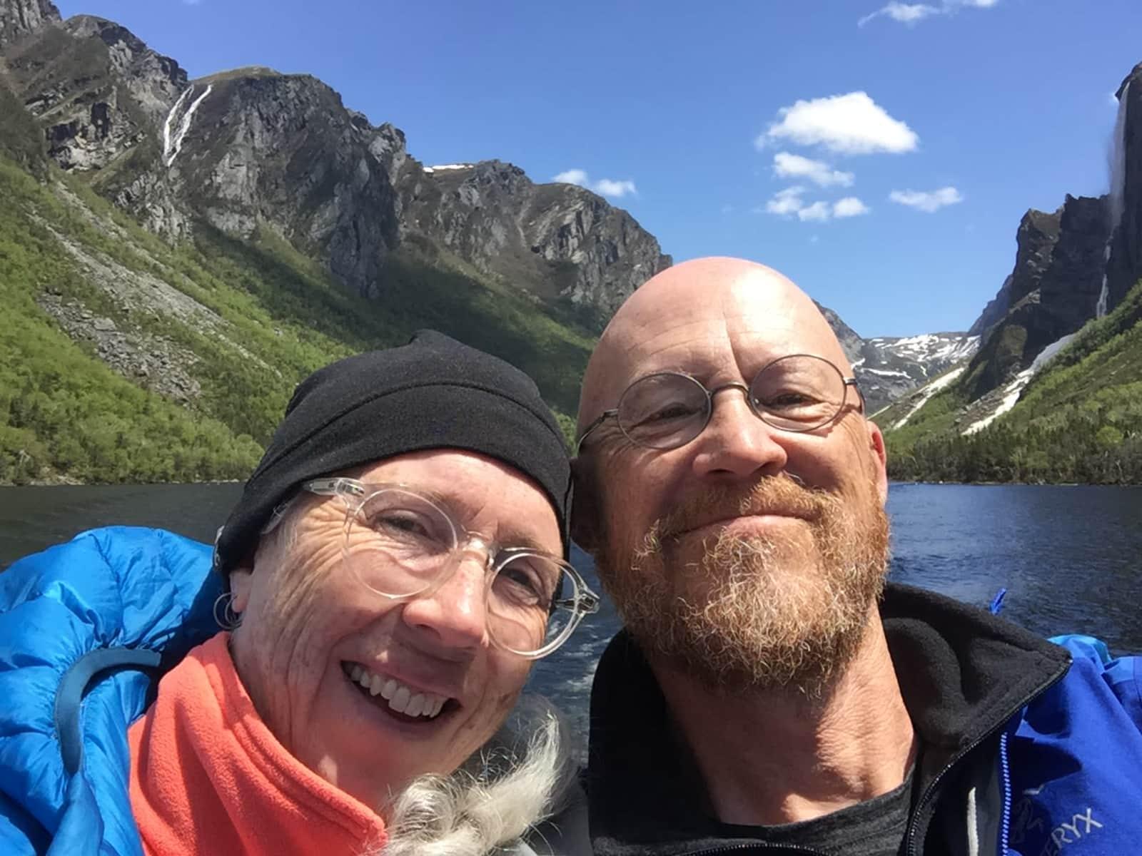 Chris & Ann from Calgary, Alberta, Canada