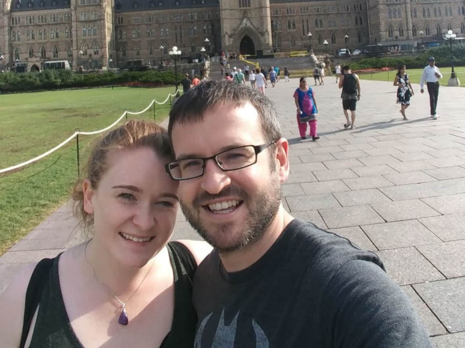 Richard & Alexandra from Toronto, Ontario, Canada
