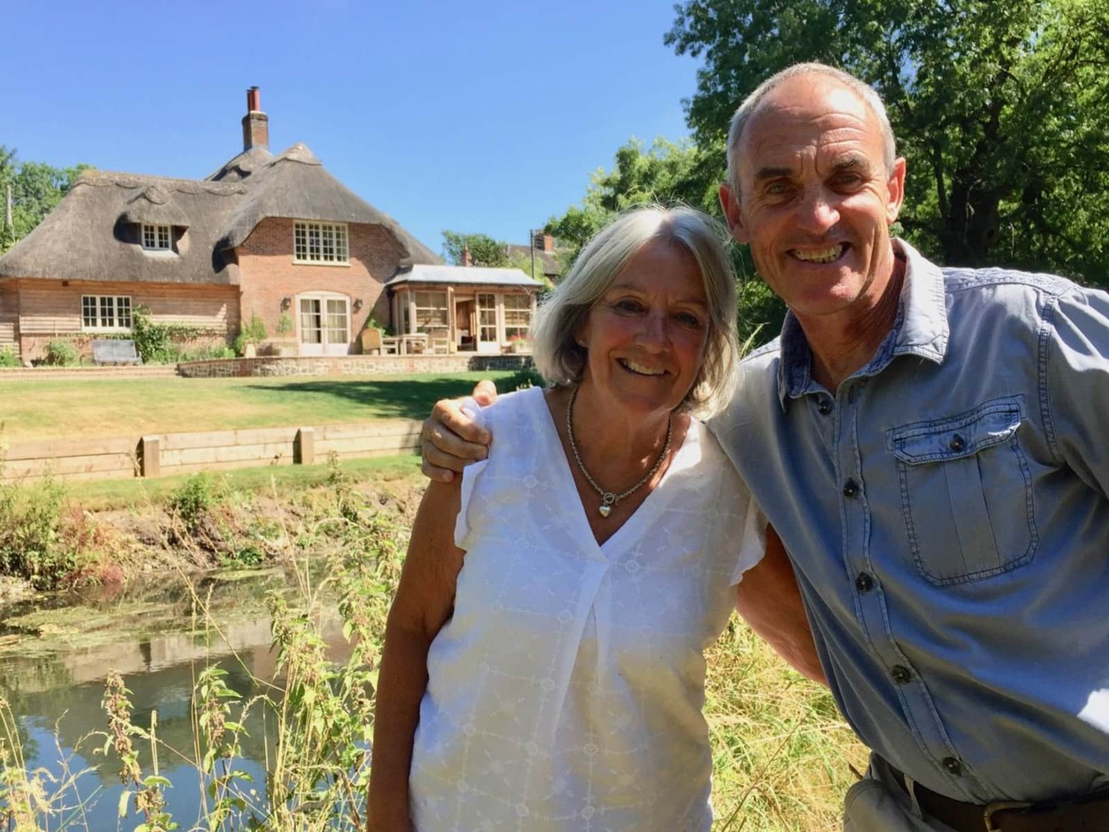 Sue & Julian from Farnham, United Kingdom