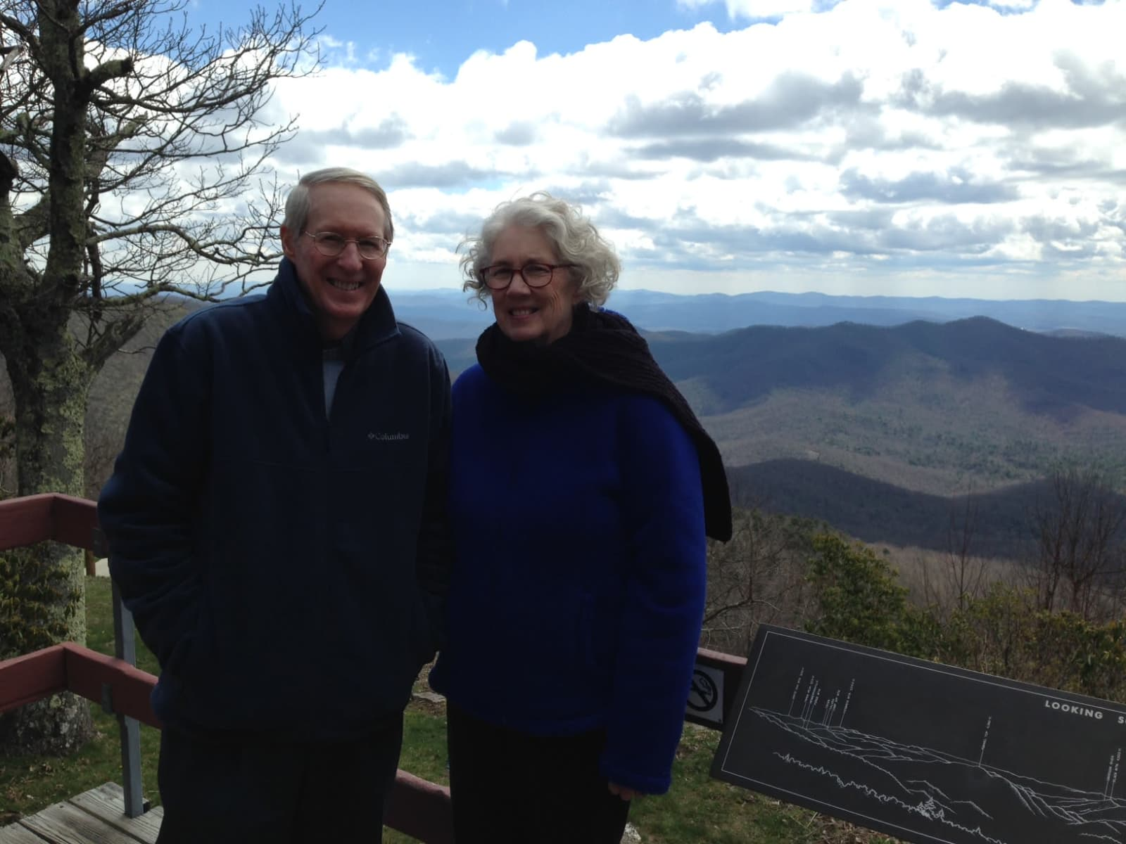 Melinda & Hal from Saluda, North Carolina, United States