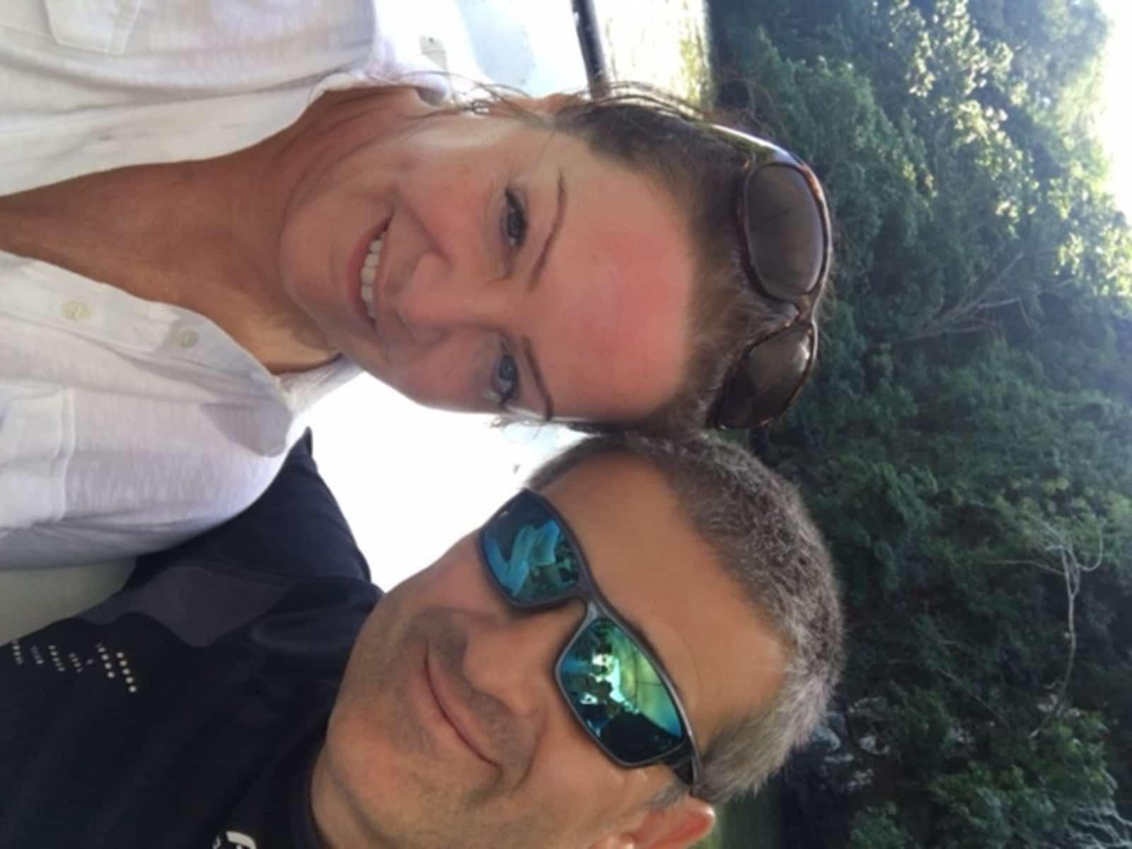 Graham & Fenella from London, United Kingdom