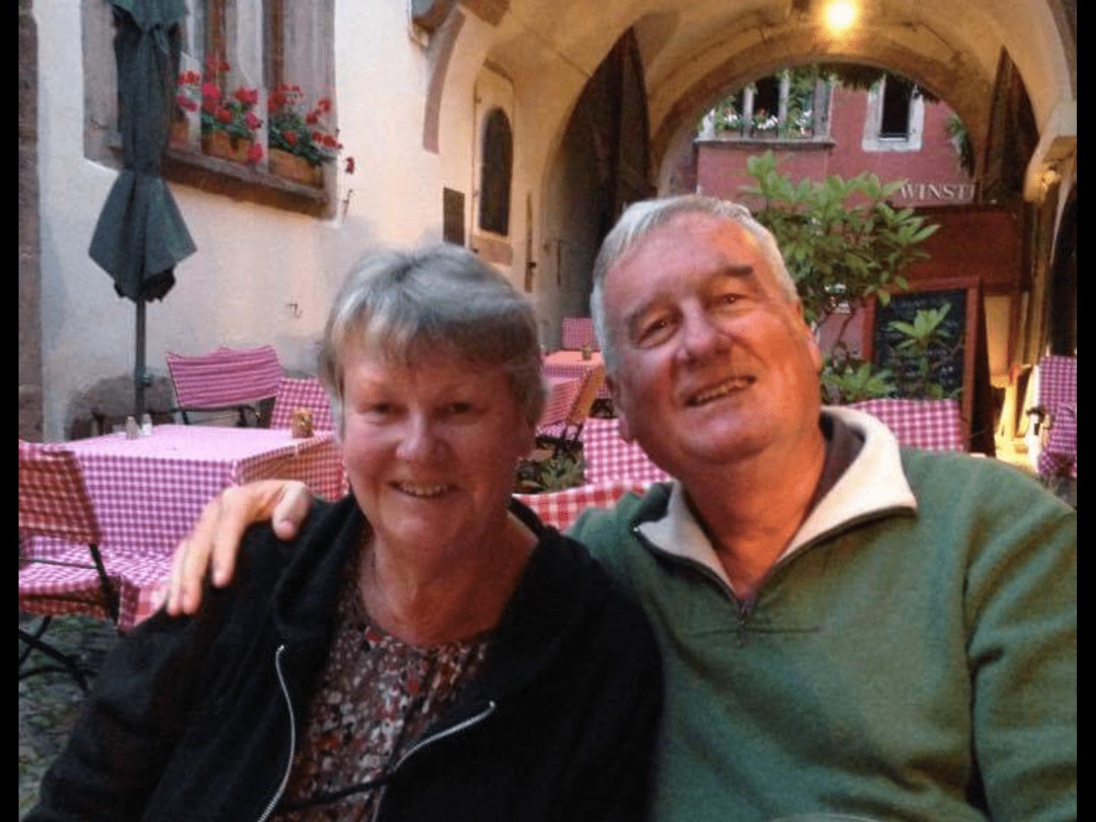 Margaret & Bill from Canberra, Australian Capital Territory, Australia