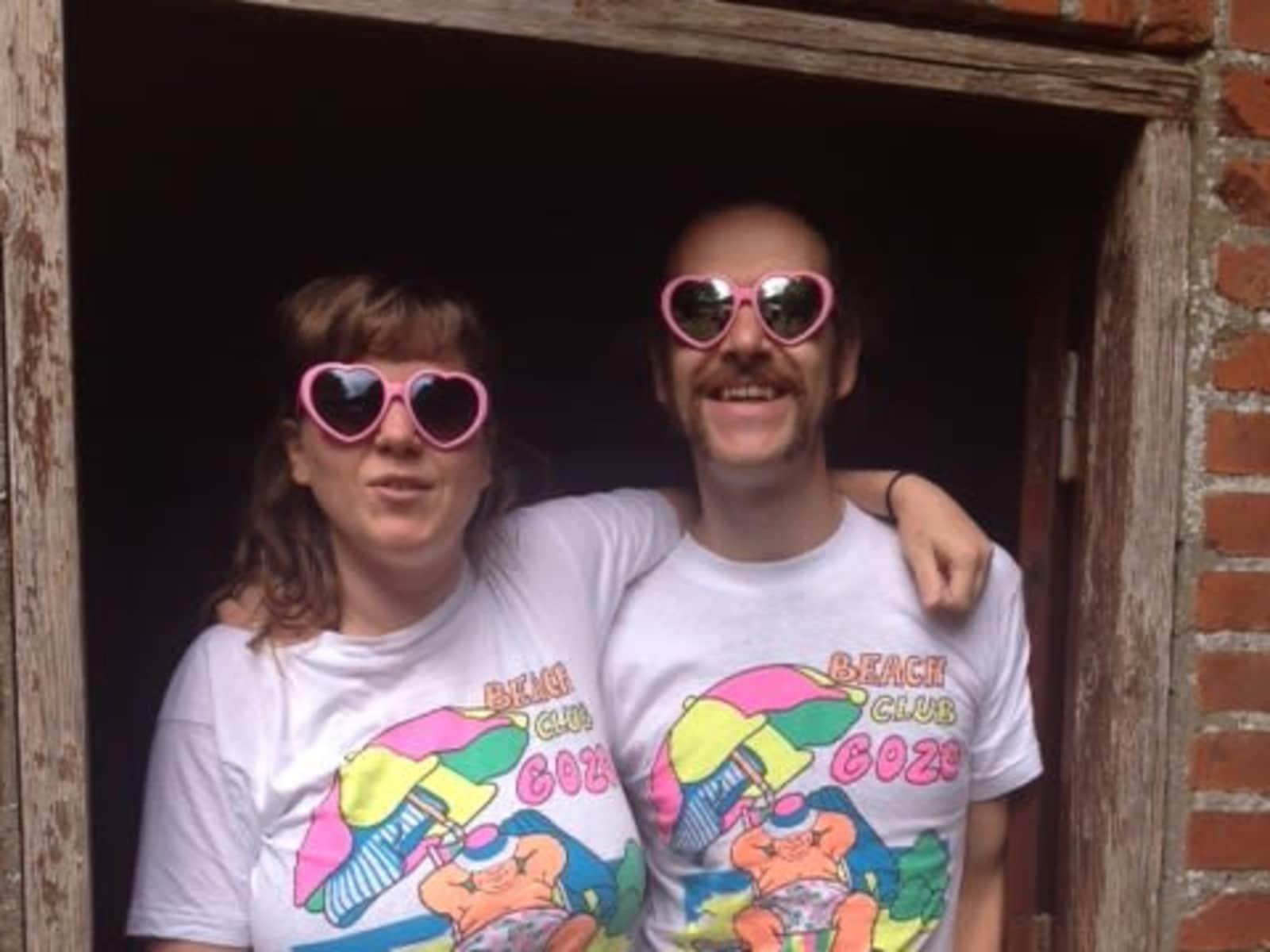 Martin & Helen from Nesoddtangen, Norway