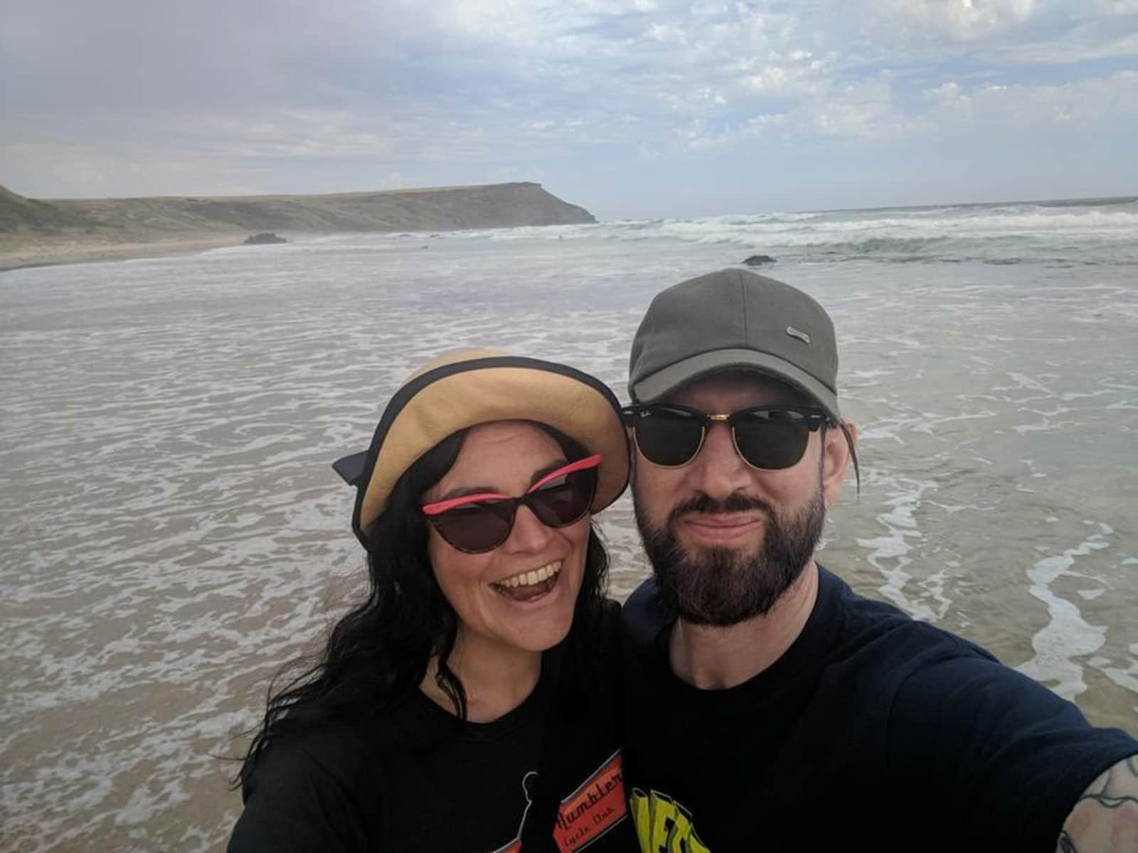 Tamara & Brendan from Melbourne, Victoria, Australia