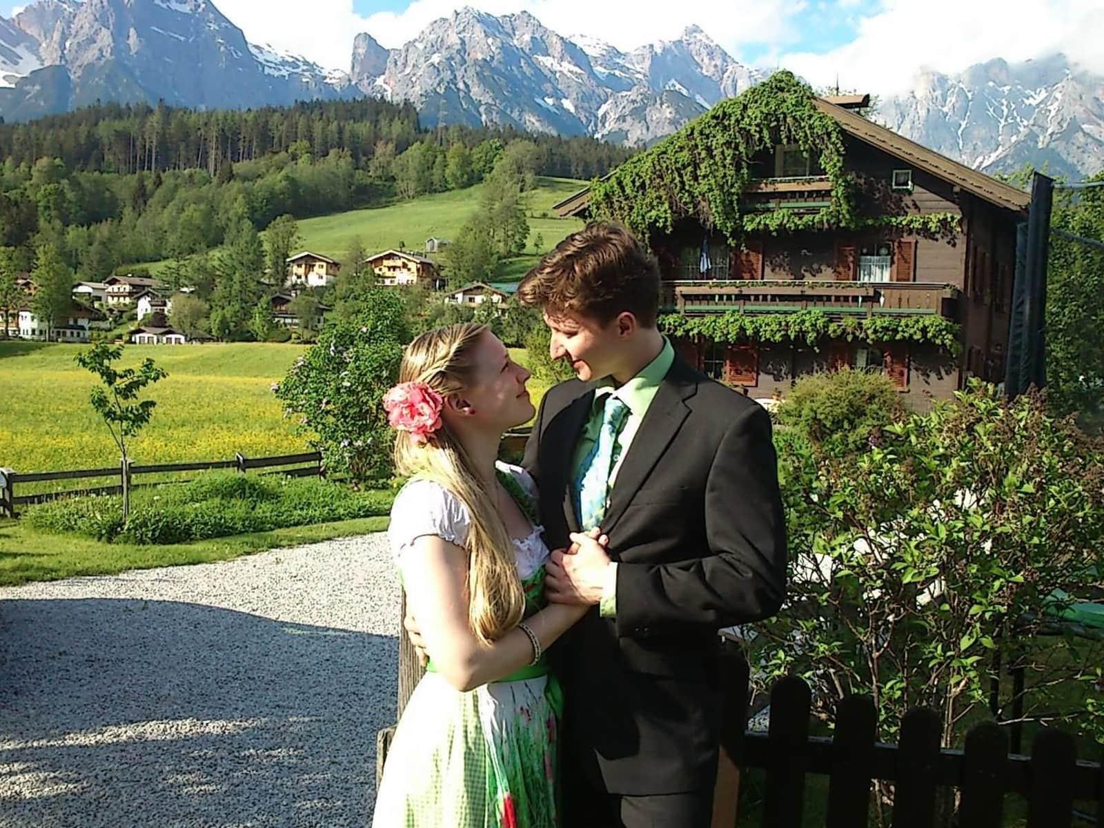 Barbara & Christoph from Vienna, Austria