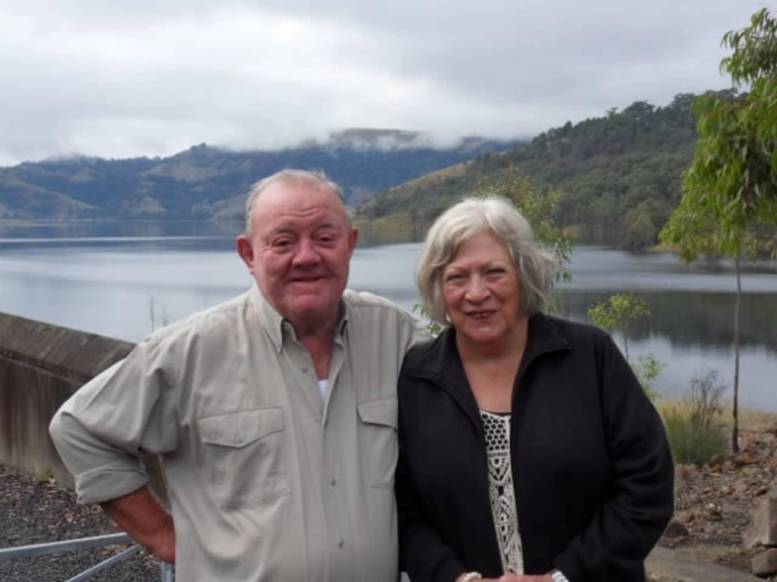 Kay & Jeffrey from Boonah, Queensland, Australia