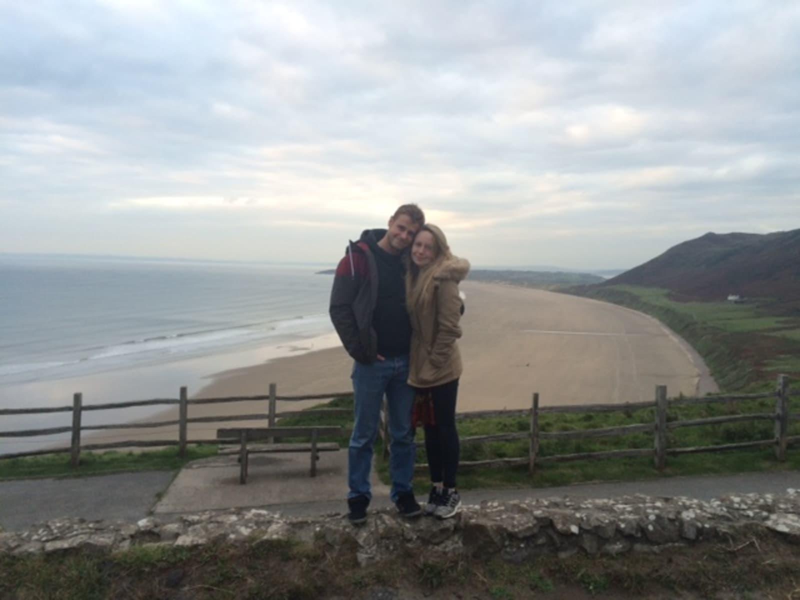 Erin & Luke from Daventry, United Kingdom