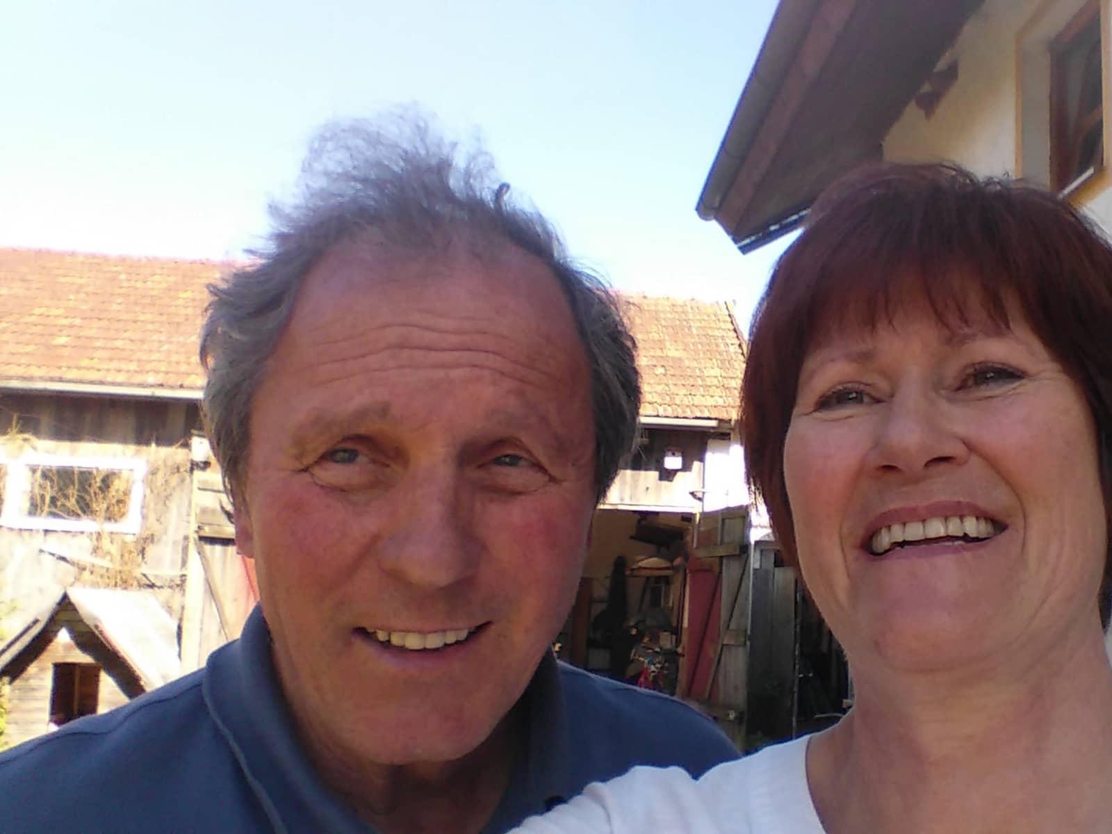 Christiane & Reinhard from Cham, Germany