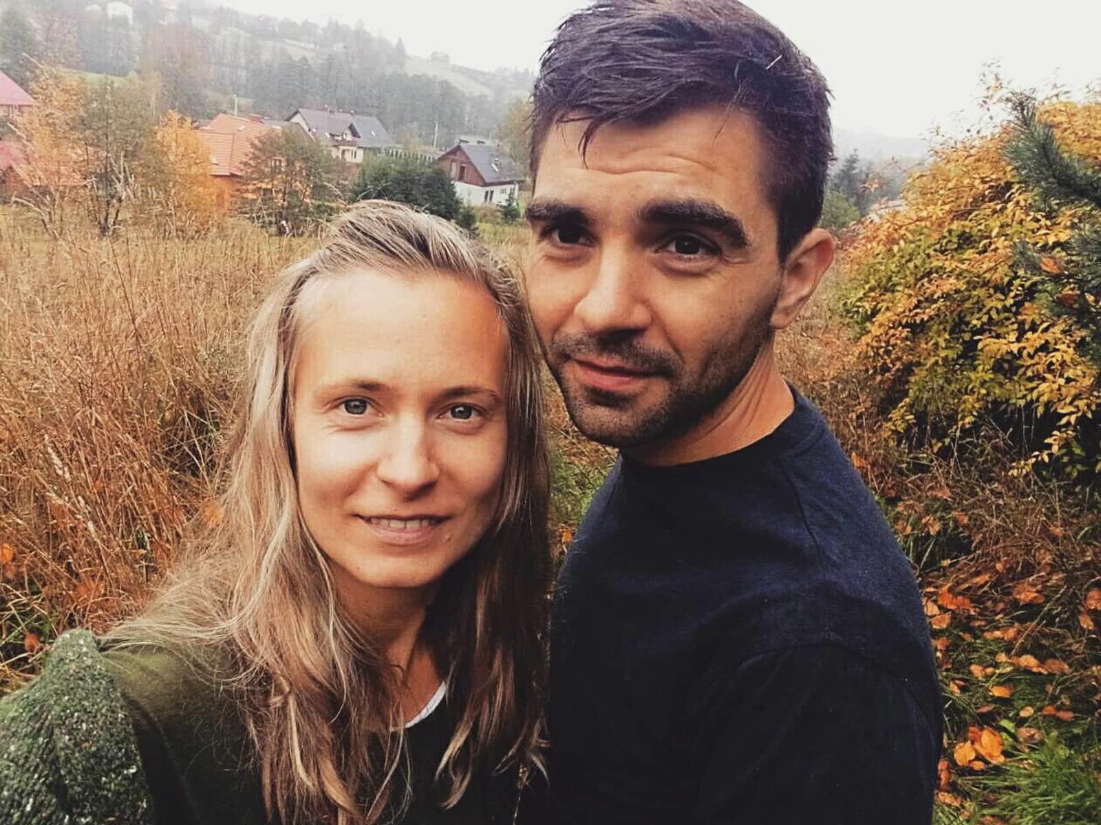 Krzysztof & Julia from Dublin, Ireland